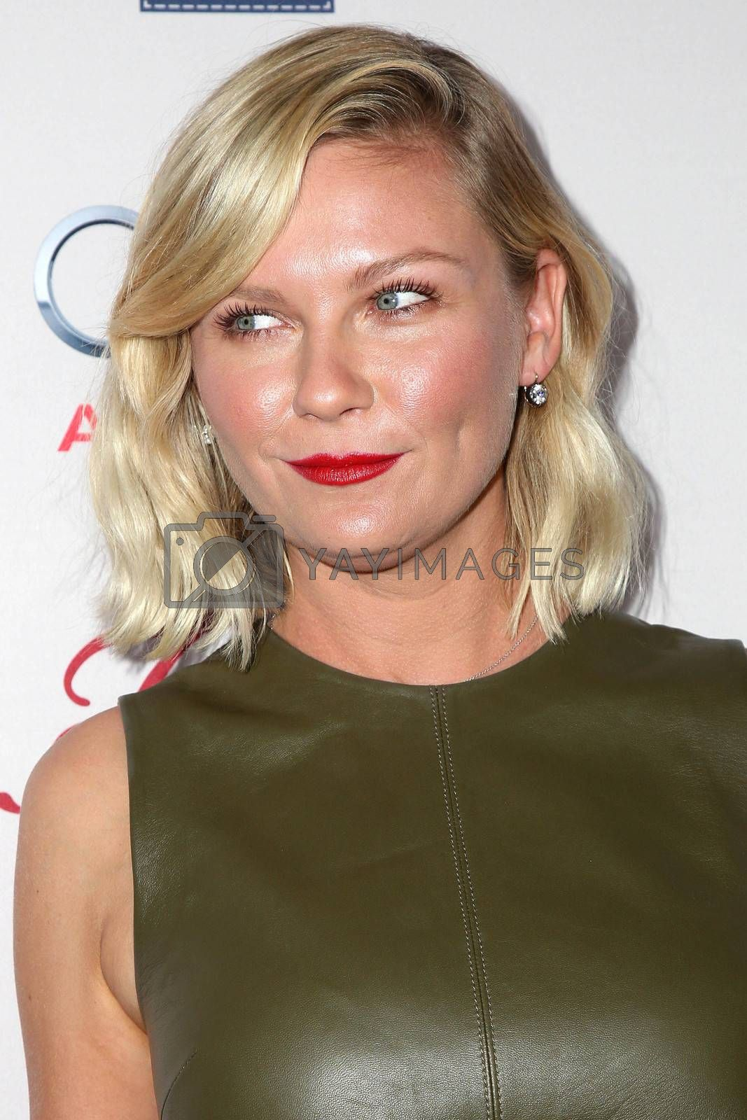 """Kirsten Dunst at the """"Fargo"""" Season 2 Premiere Screening, ArcLight, Hollywood, CA 10-07-15/ImageCollect by ImageCollect"""