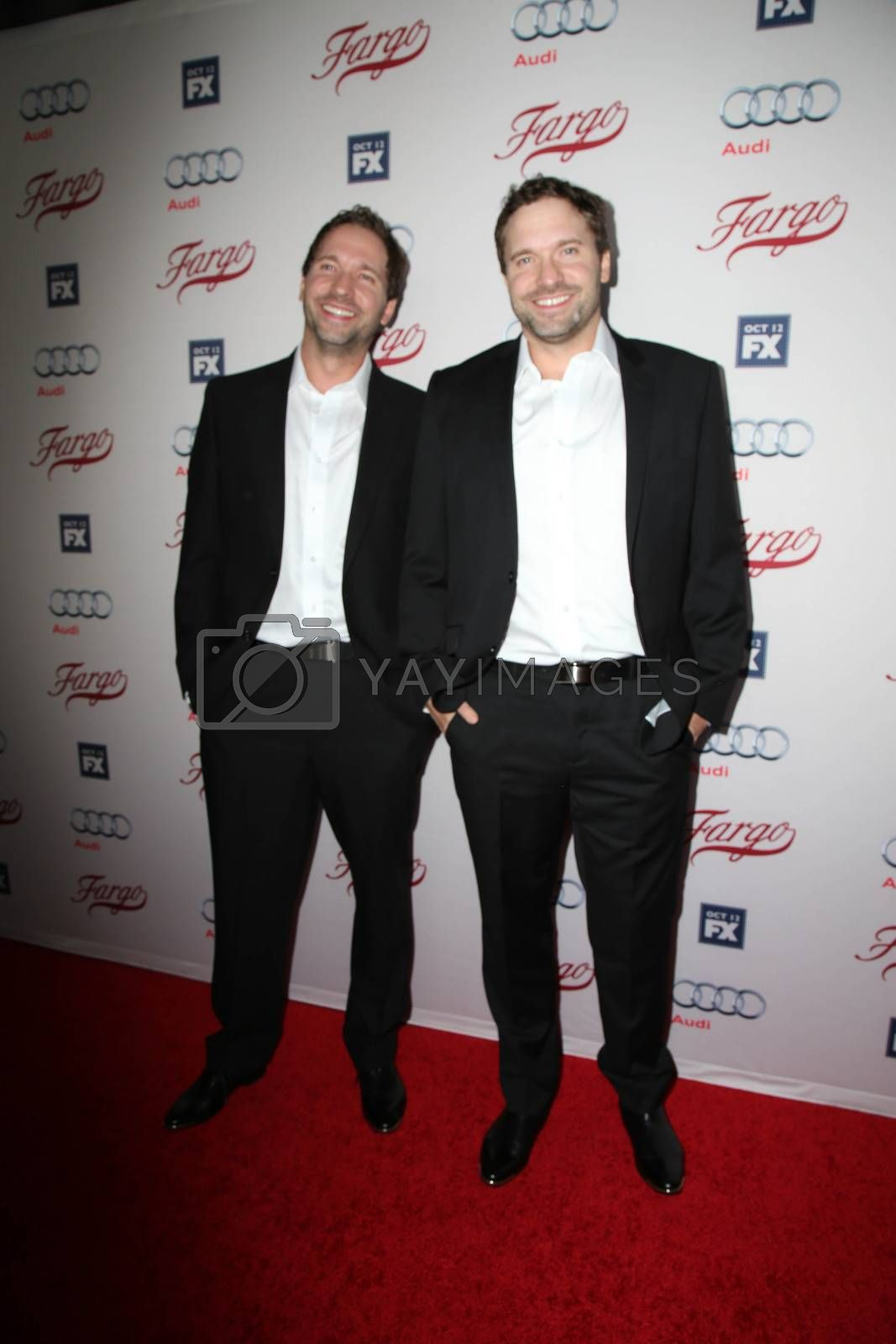 """Brad Mann, Todd Mann at the """"Fargo"""" Season 2 Premiere Screening, ArcLight, Hollywood, CA 10-07-15/ImageCollect by ImageCollect"""