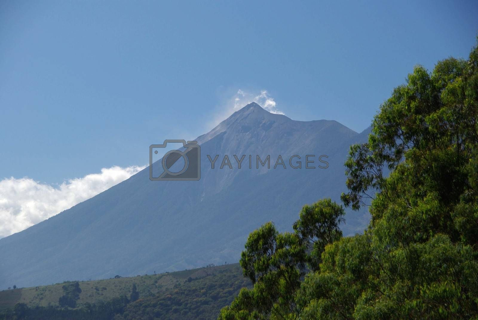 Royalty free image of Volcano in Guatemala by pascalou95