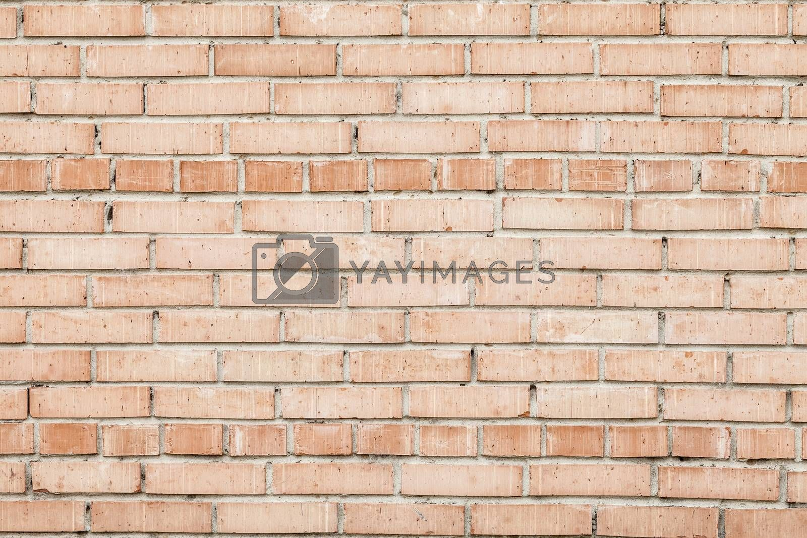 Royalty free image of Weathered Old Red Brick Wall by H2Oshka