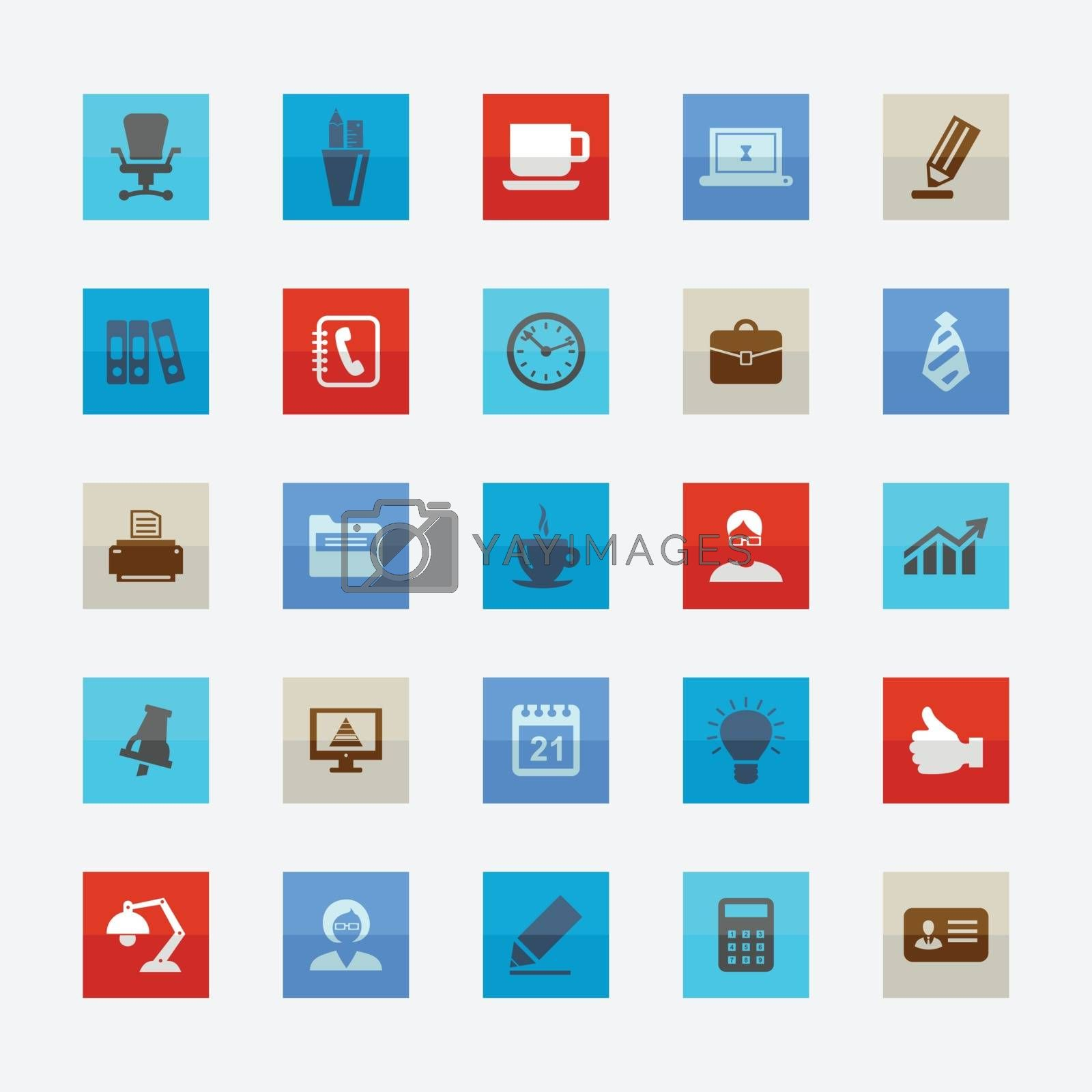 Office icons by aleksander1