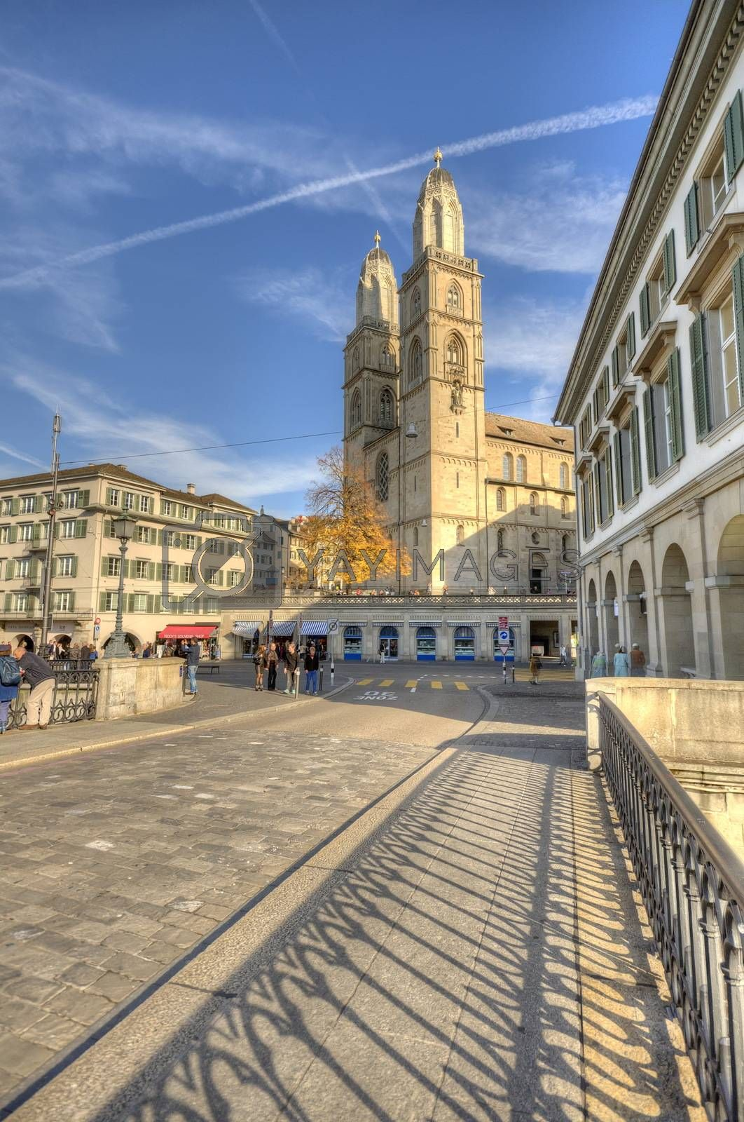 Cathedral of Zurich, Switzerland
