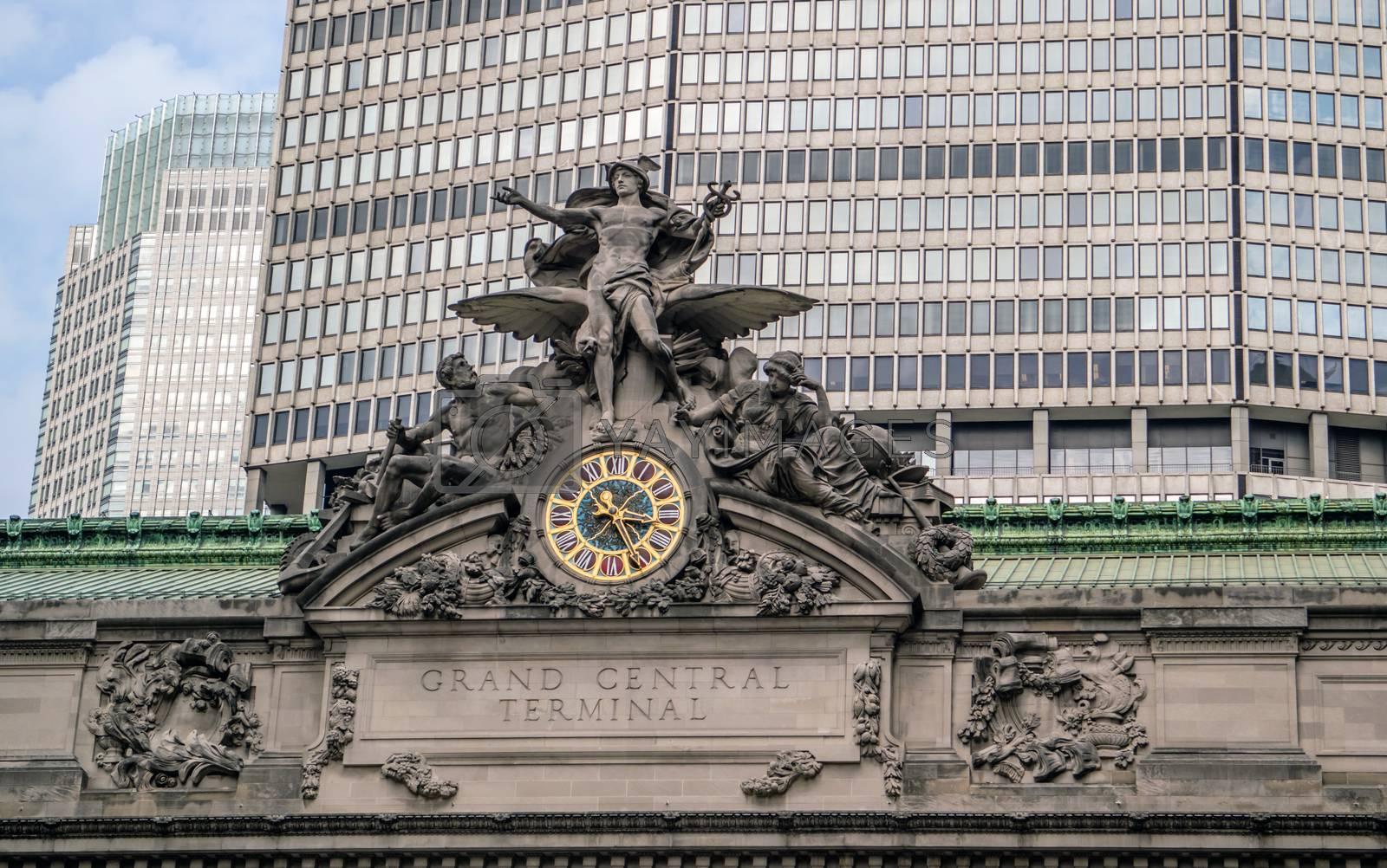 Grand Central Terminal in Manhattan New York
