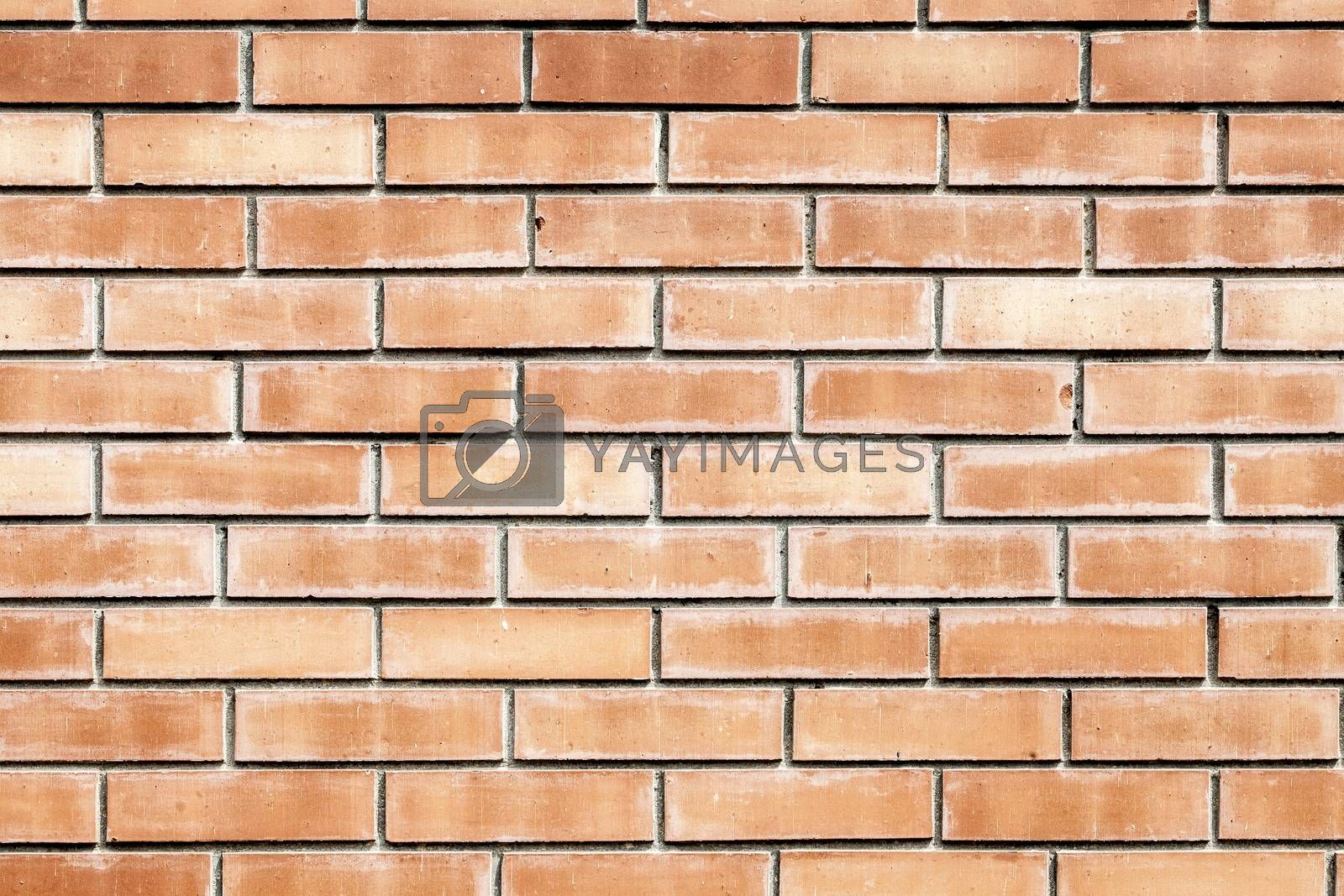 The Weathered Old Red Brick Wall Background