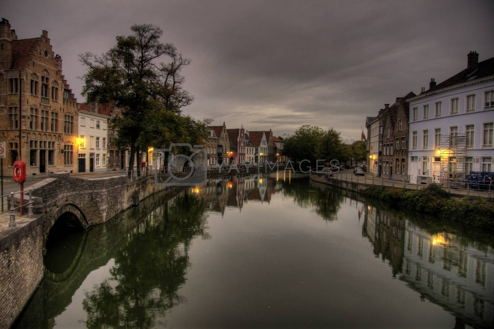 Travel in Brugge by javax