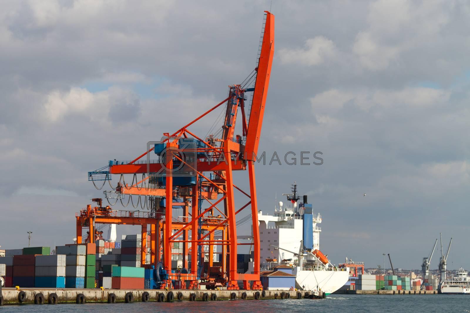 Royalty free image of Port by EvrenKalinbacak