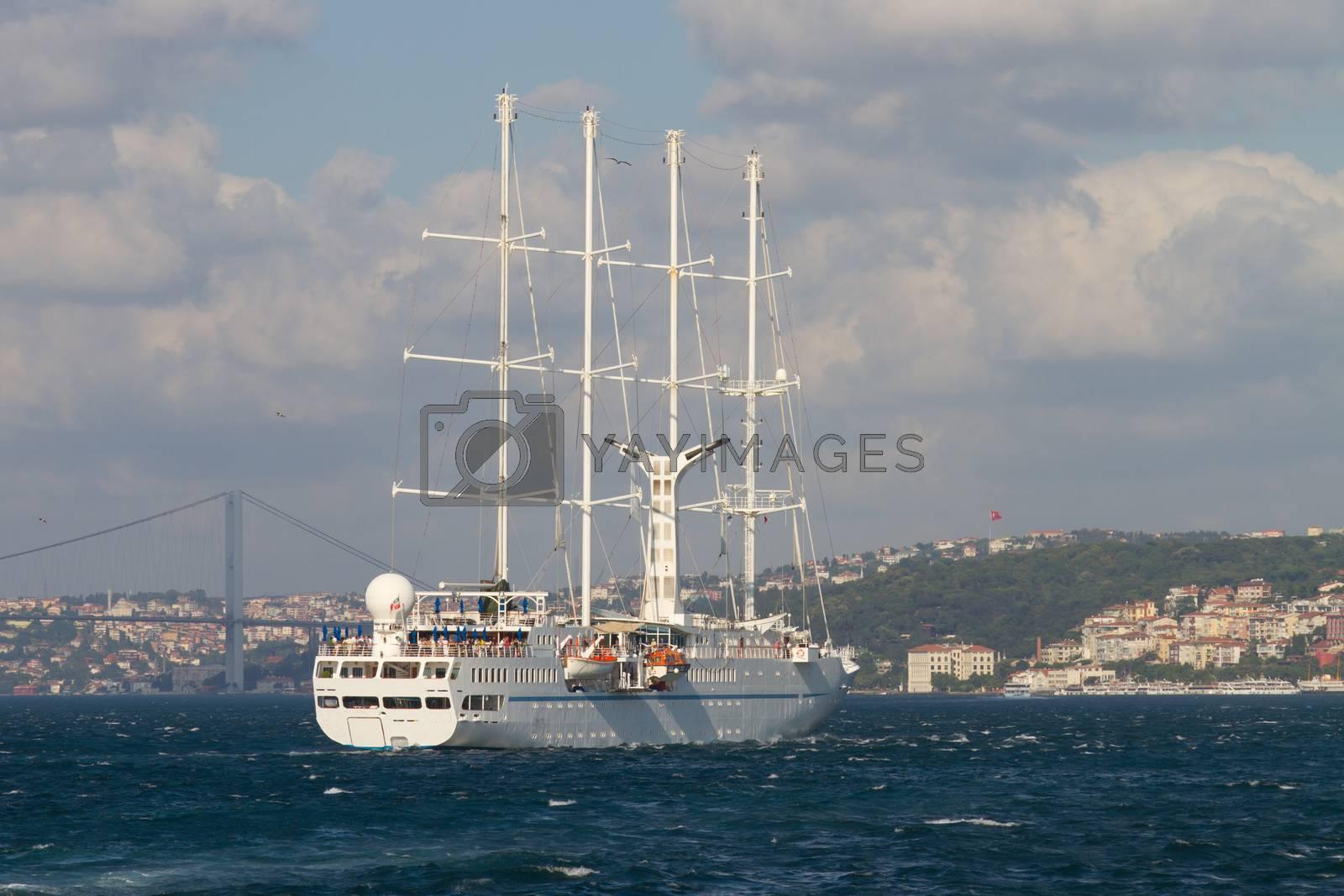 Royalty free image of Sailboat by EvrenKalinbacak