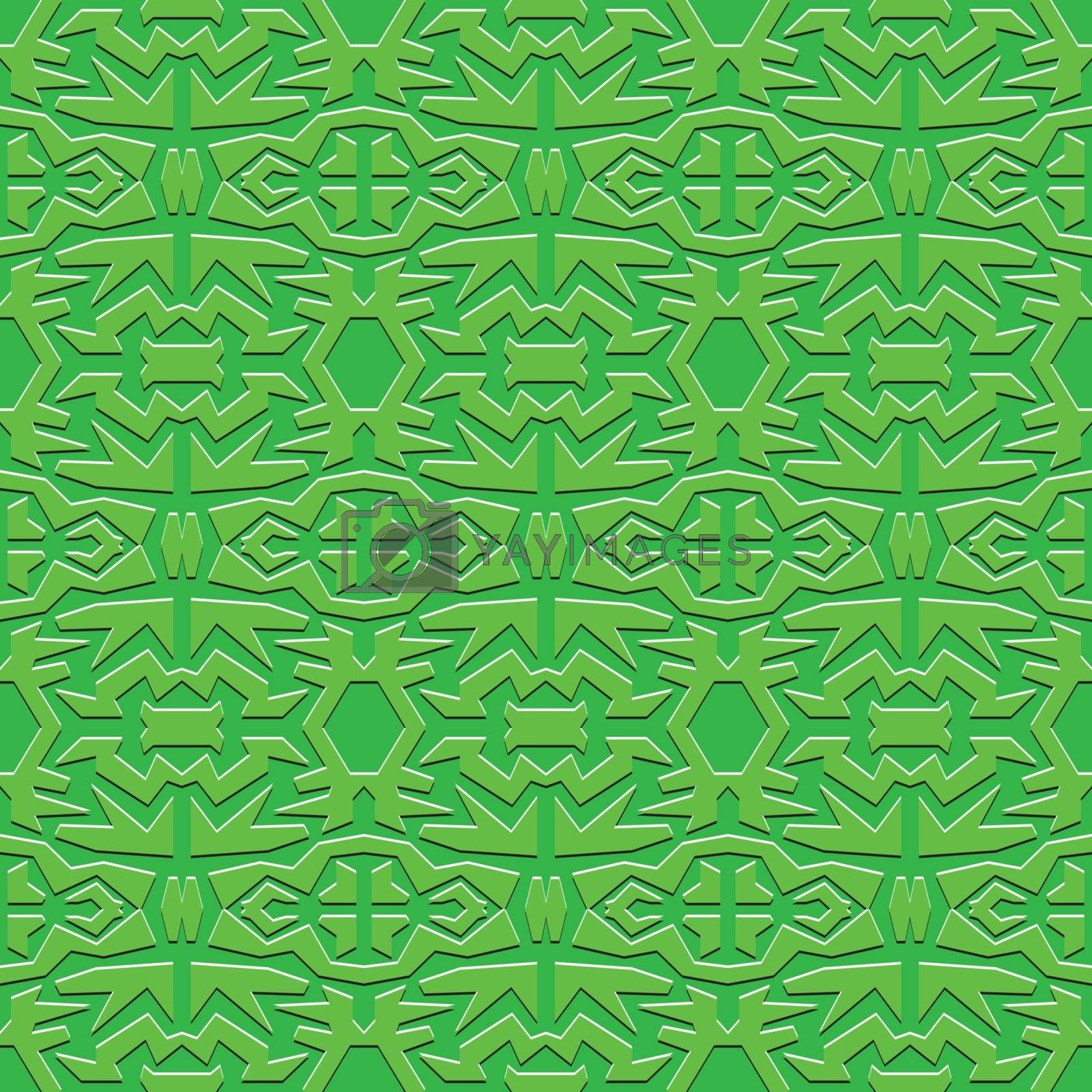 green square abstract monochrome vector seamless wallpaper