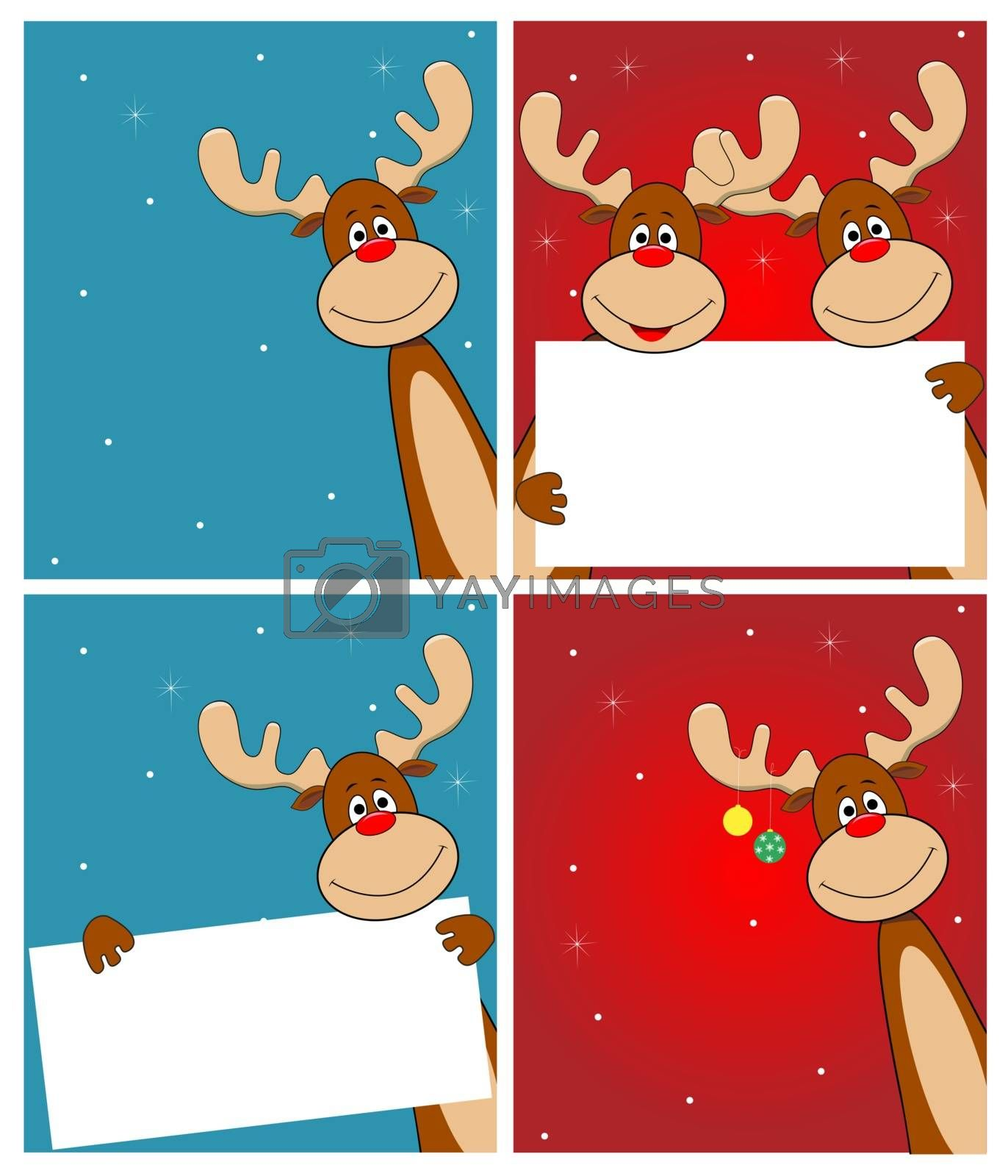 Deer Rudolph by liolle