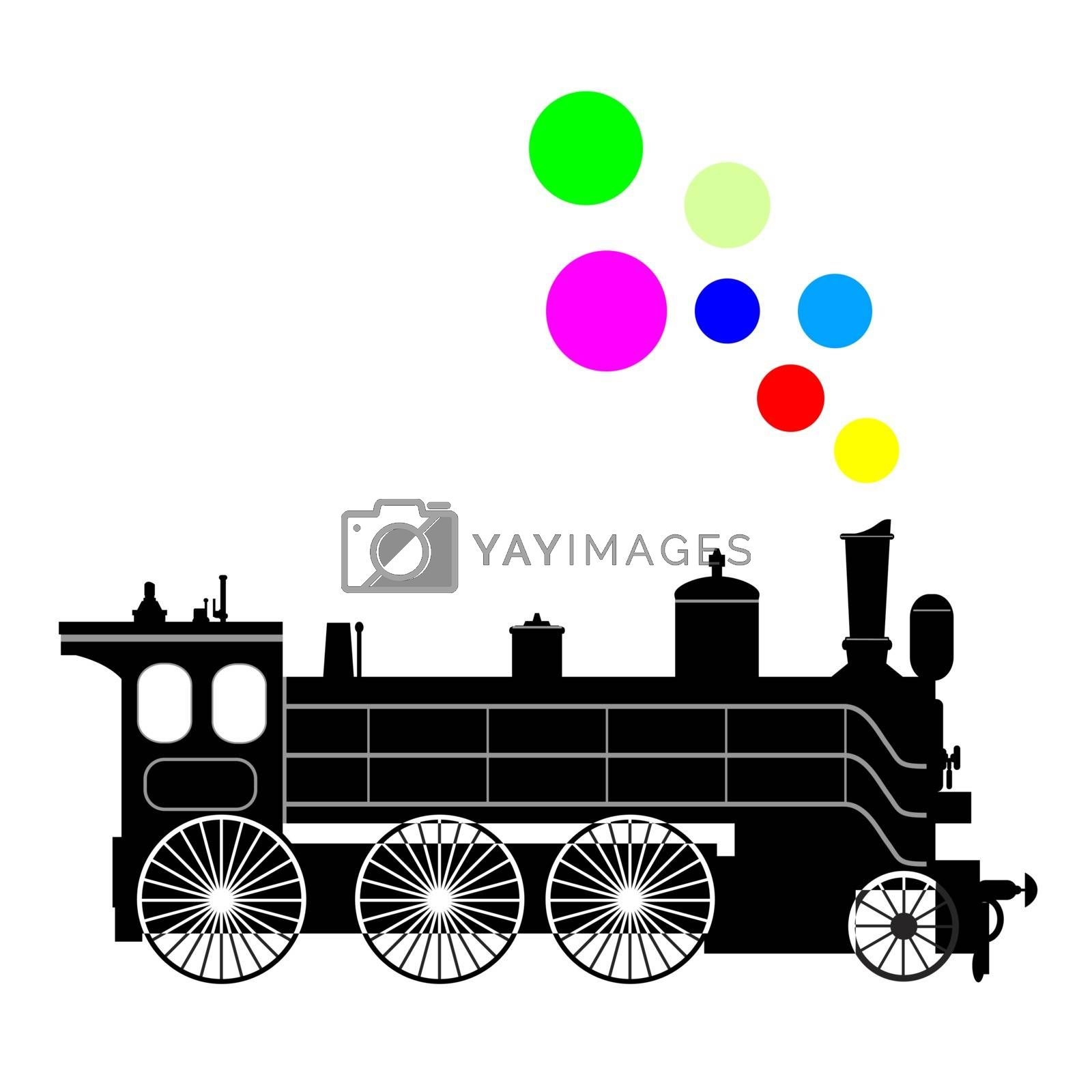 Steam locomotive by liolle