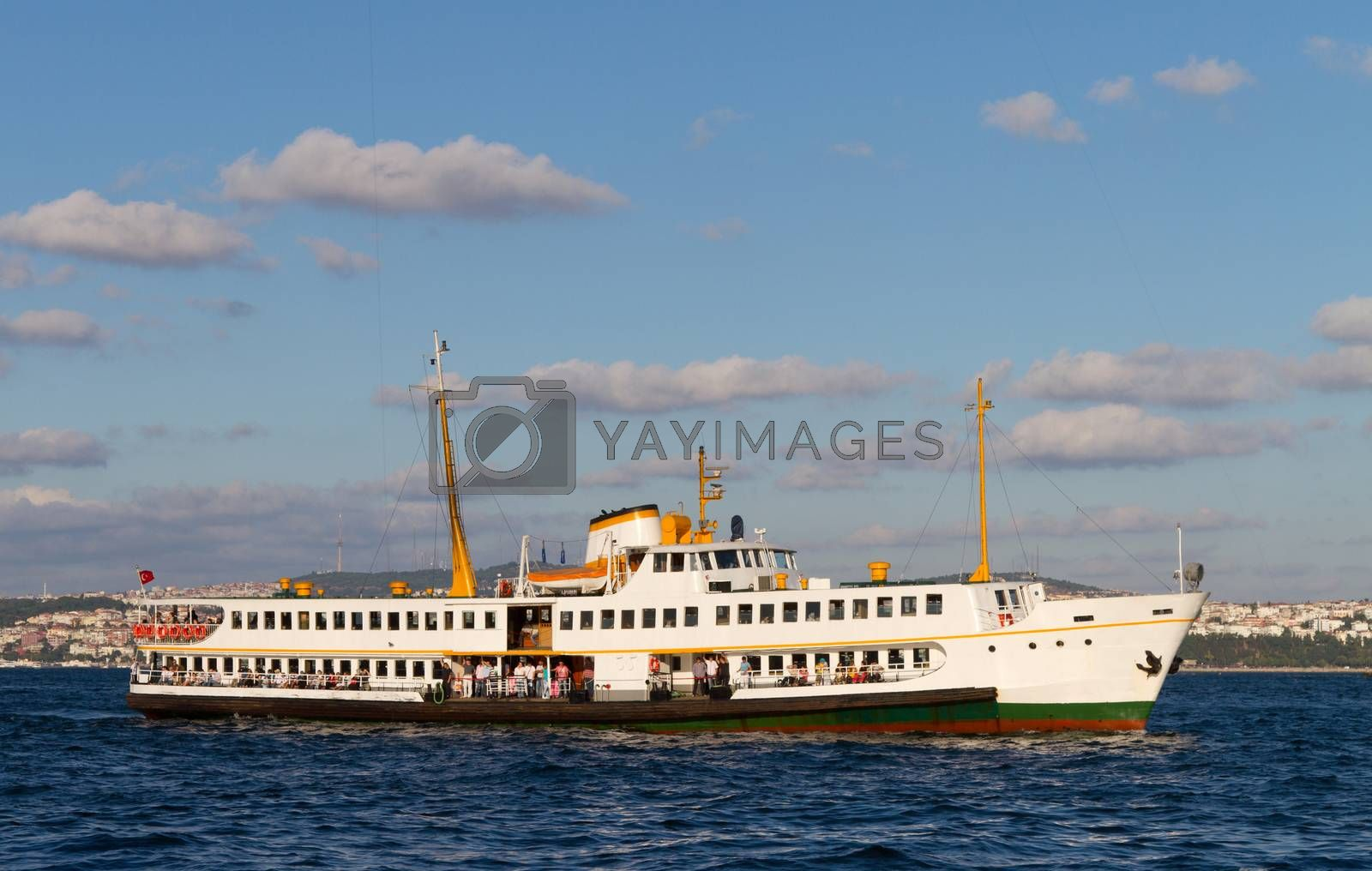 A ferry from Bosphorus, Istanbul