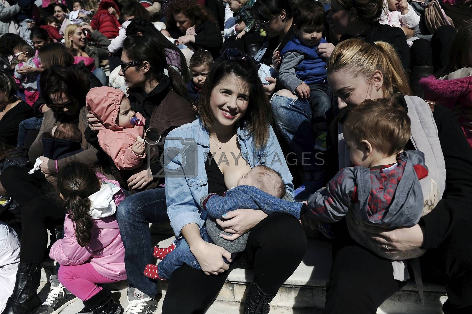 GREECE-ATHENS-BREASTFEEDING-FESTIVAL by newzulu