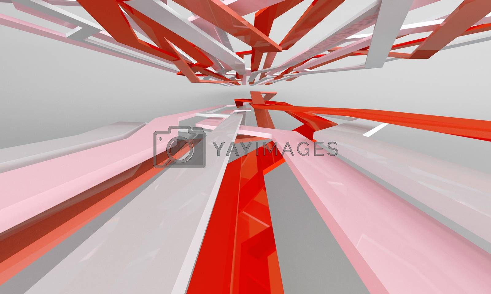 three-dimensional abstract composision for dynamic background