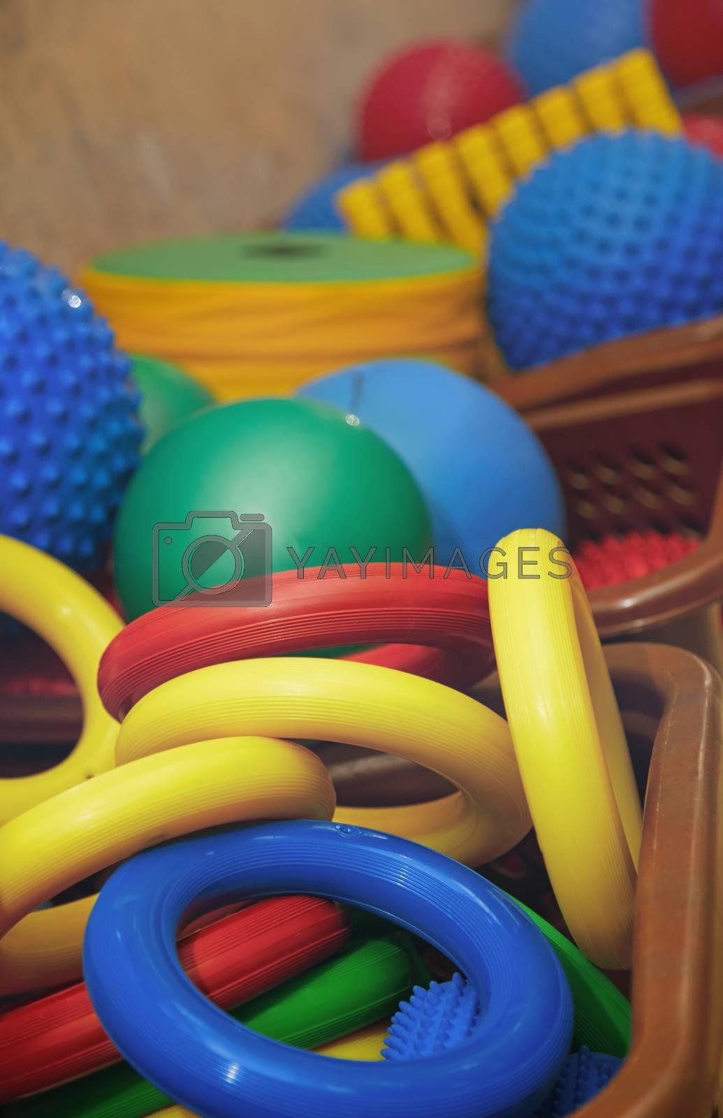 Rubber toys by Novic