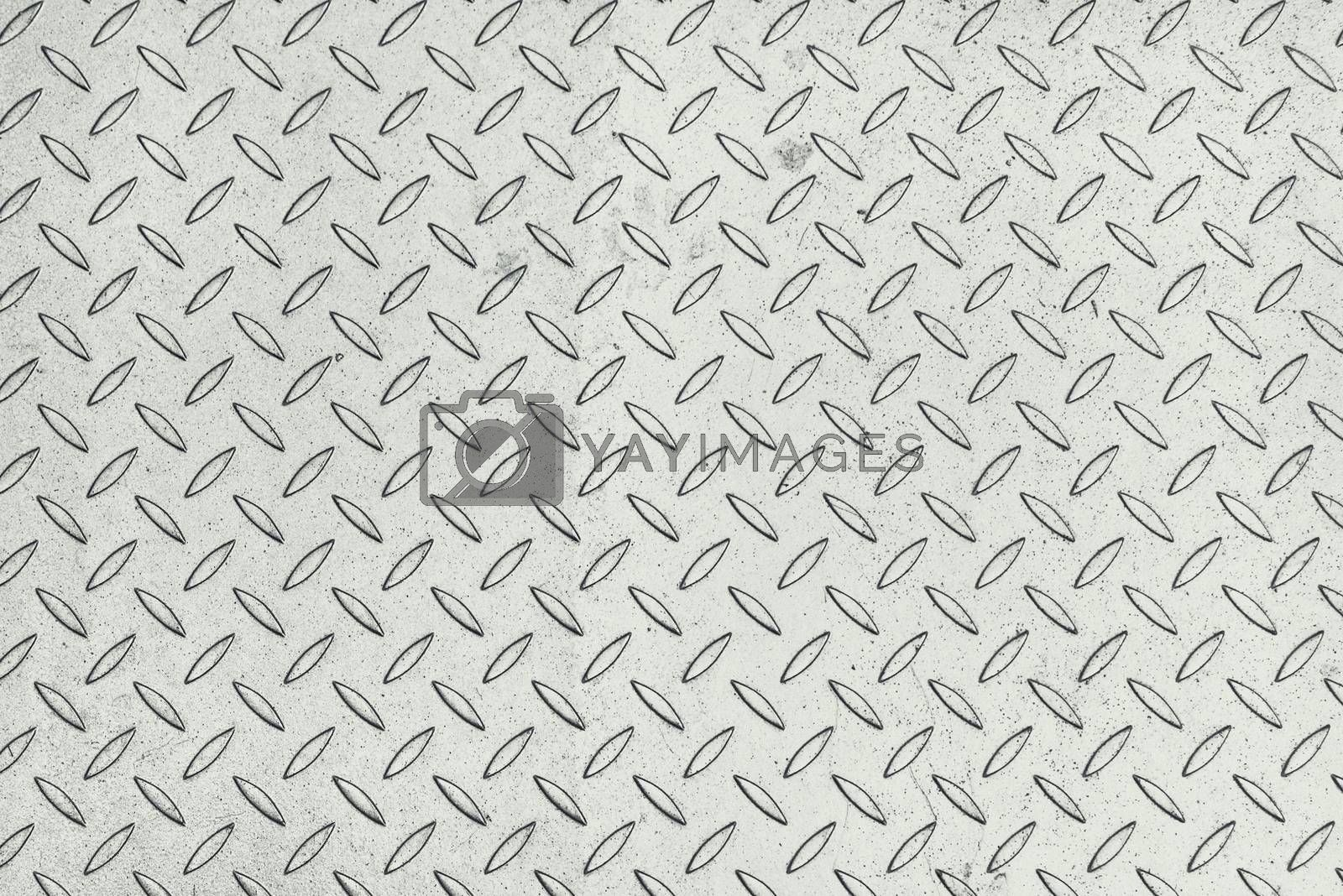 Metal textures with tileable pattern as background