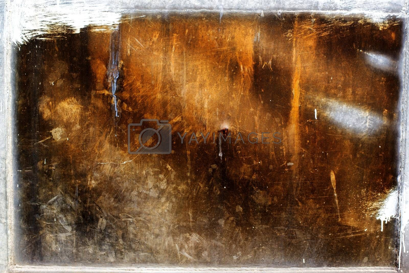 Corroded metal texture as background