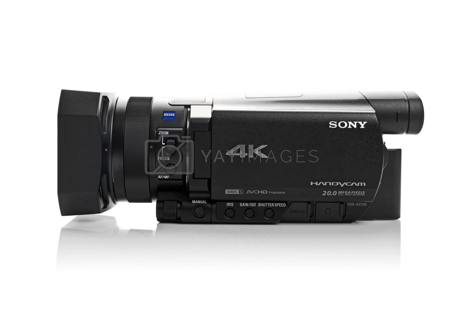 Sony FDR AX100 4k UHD Handycam Camcorder by stevanovicigor