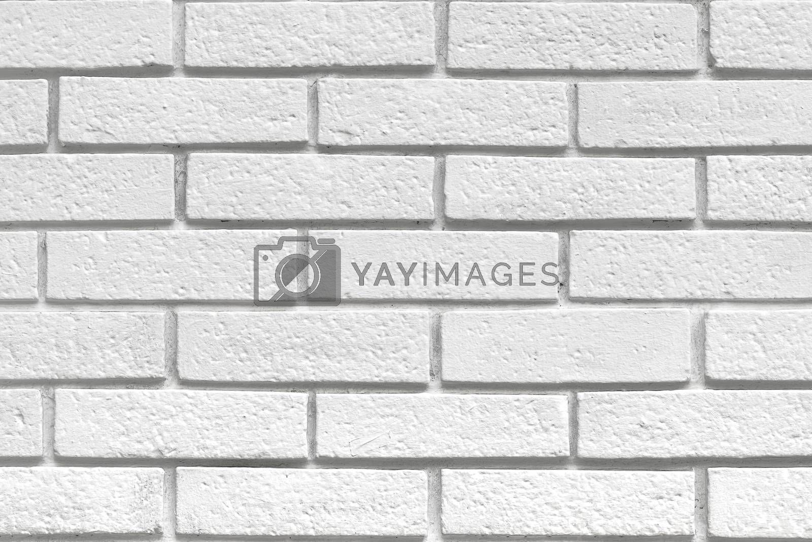 White bricks texture, surface of a urban exterior wall with brickwork pattern