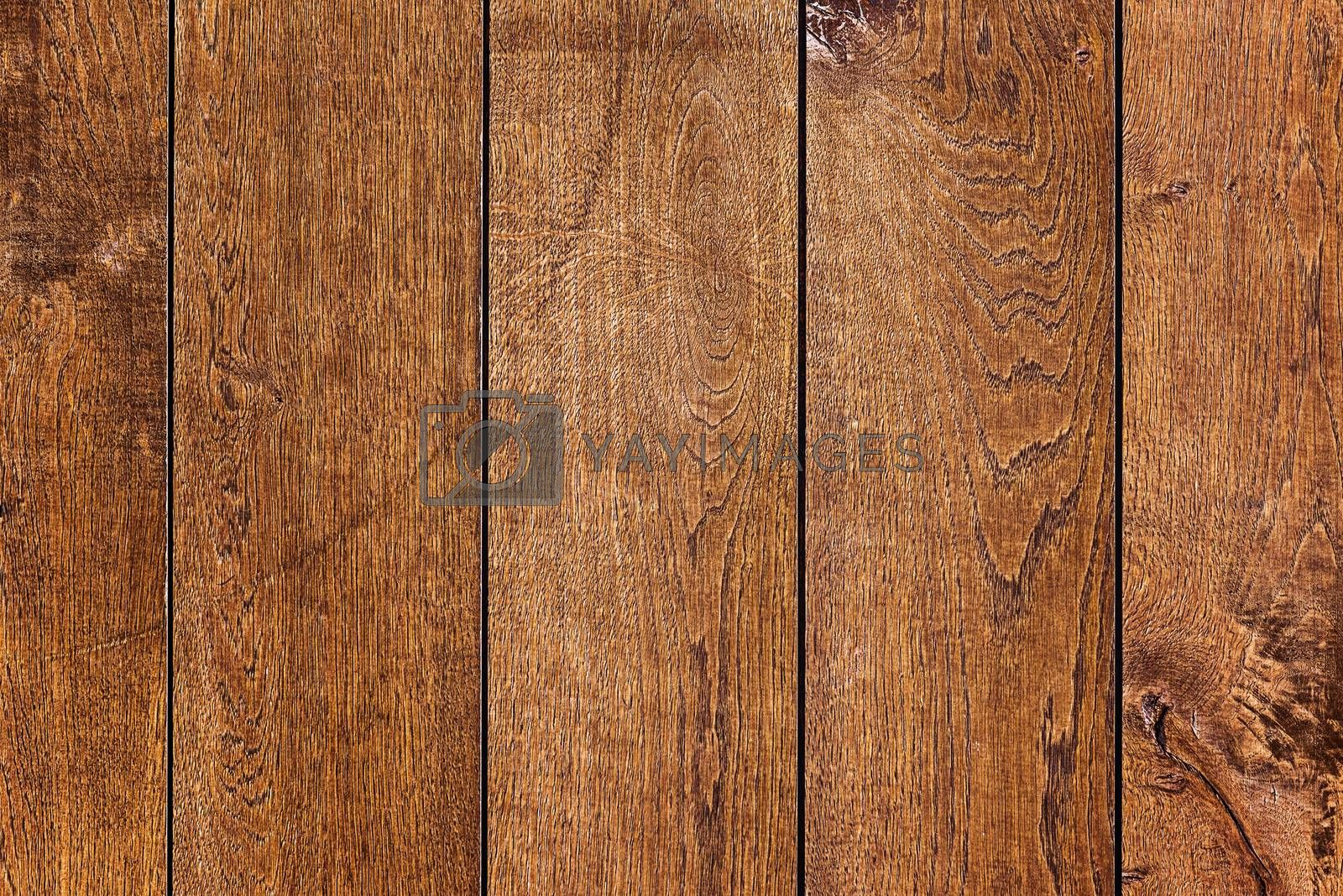 Detailed Wood Fence Texture Pattern as Background