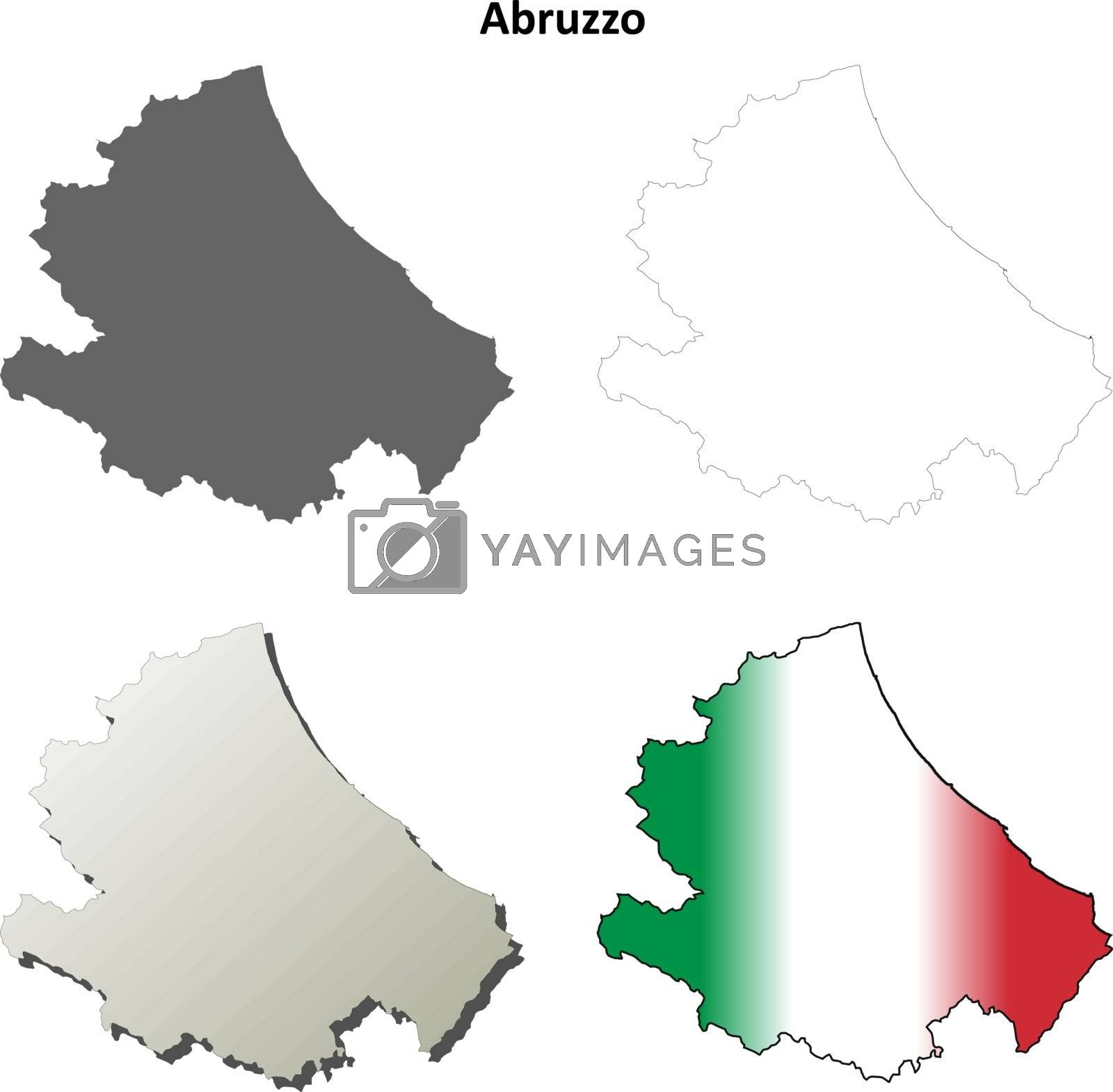 Picture of: Abruzzo Blank Detailed Outline Map Set Royalty Free Stock Image Stock Photos Royalty Free Images Vectors Footage Yayimages