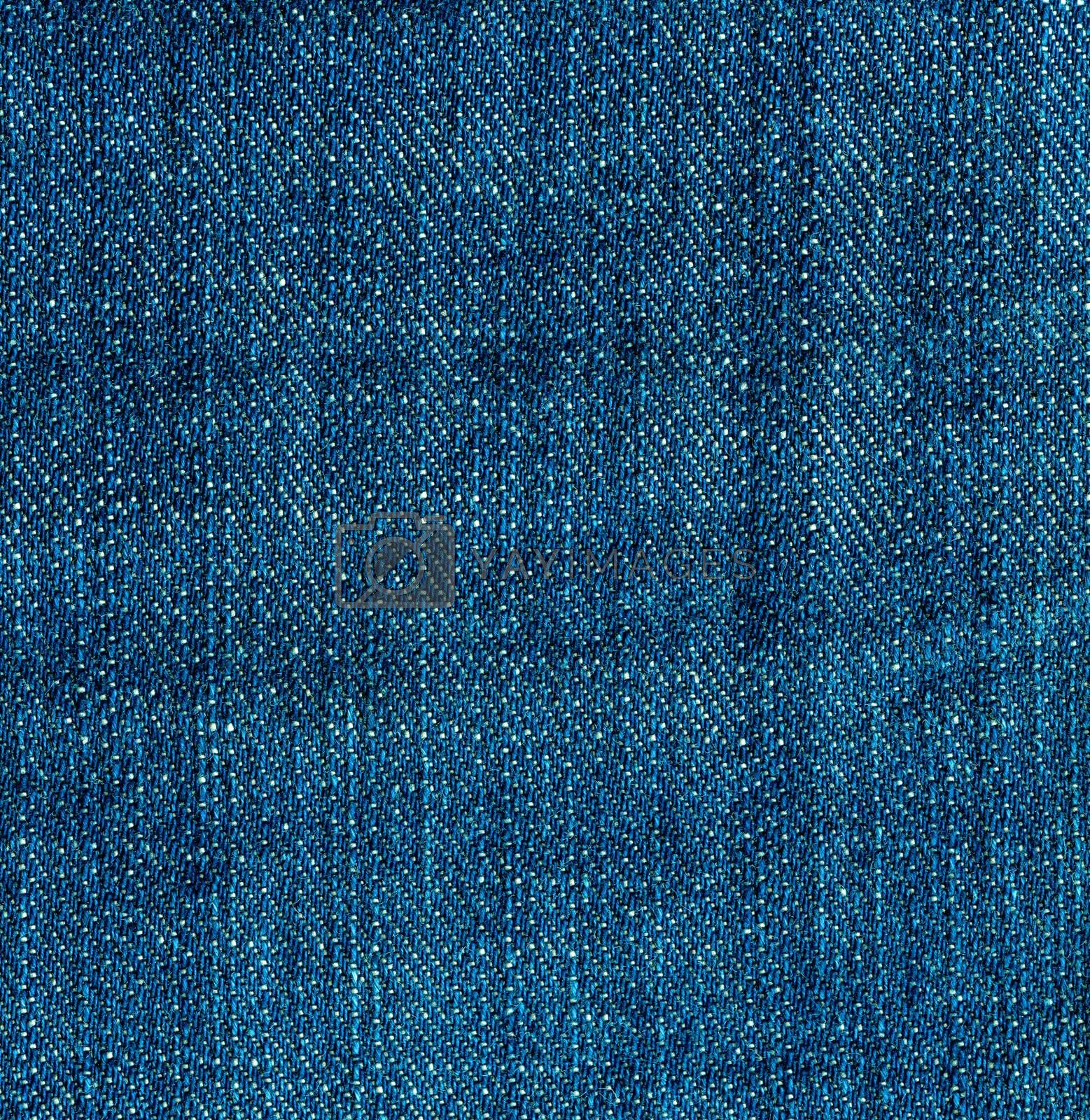 Blue jeans denim texture. Vintage background