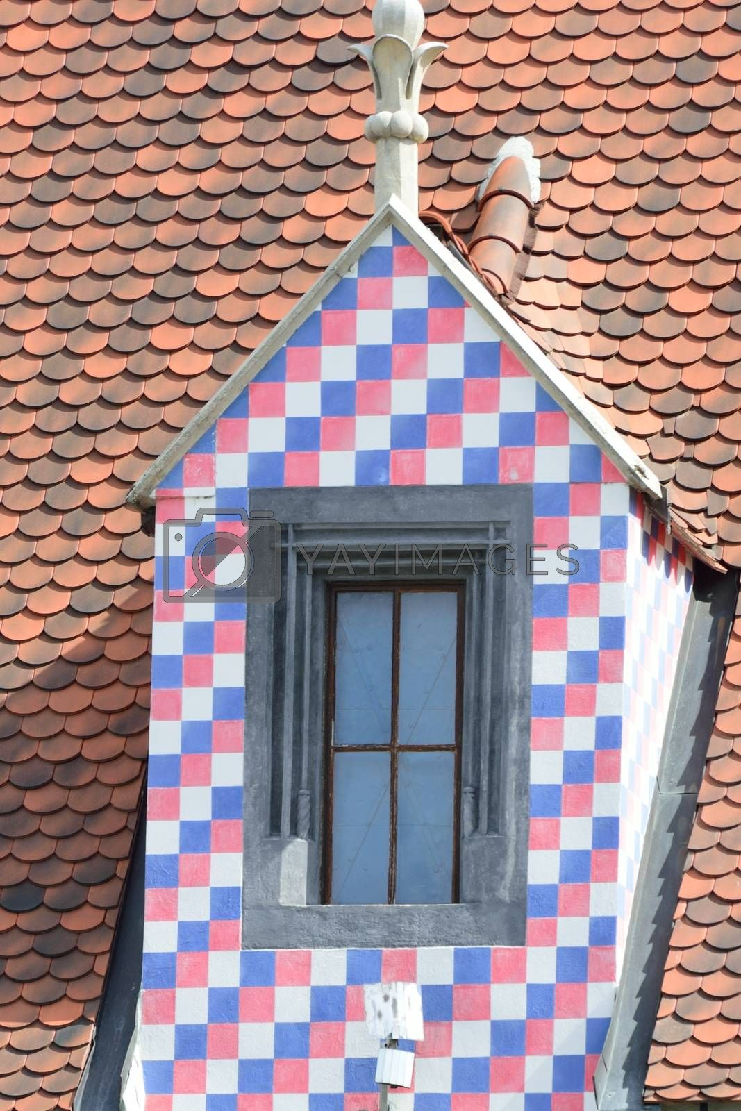 Medieval chequered windows by pauws99