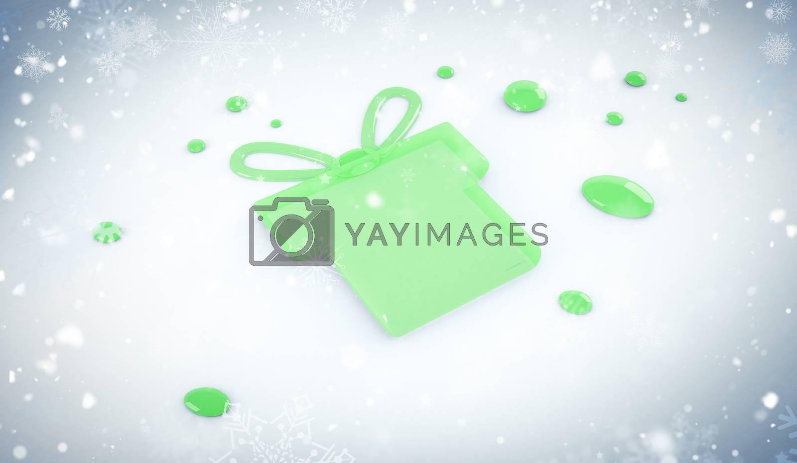 Composite image of snow by Wavebreakmedia