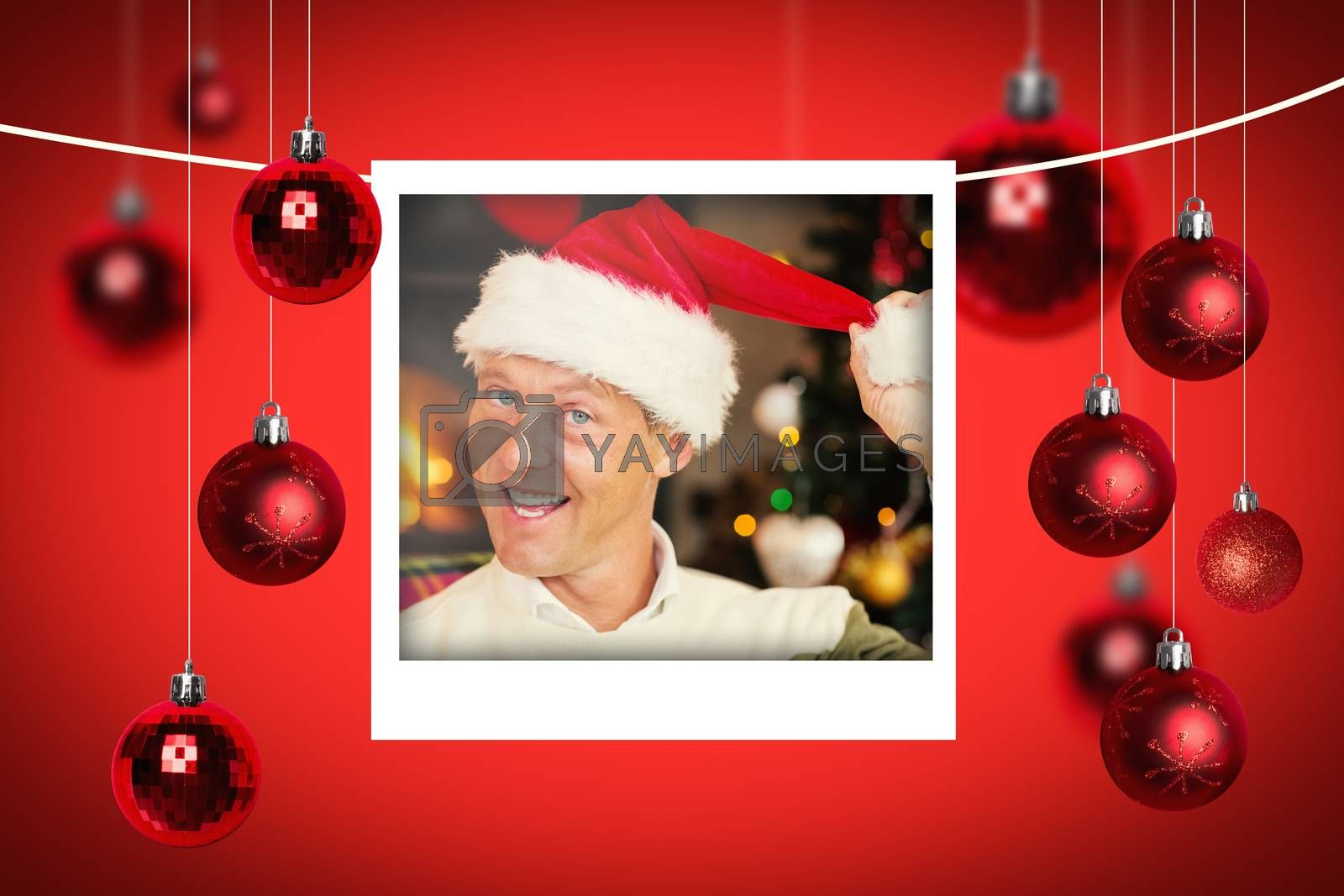 Composite image of christmas photographs by Wavebreakmedia