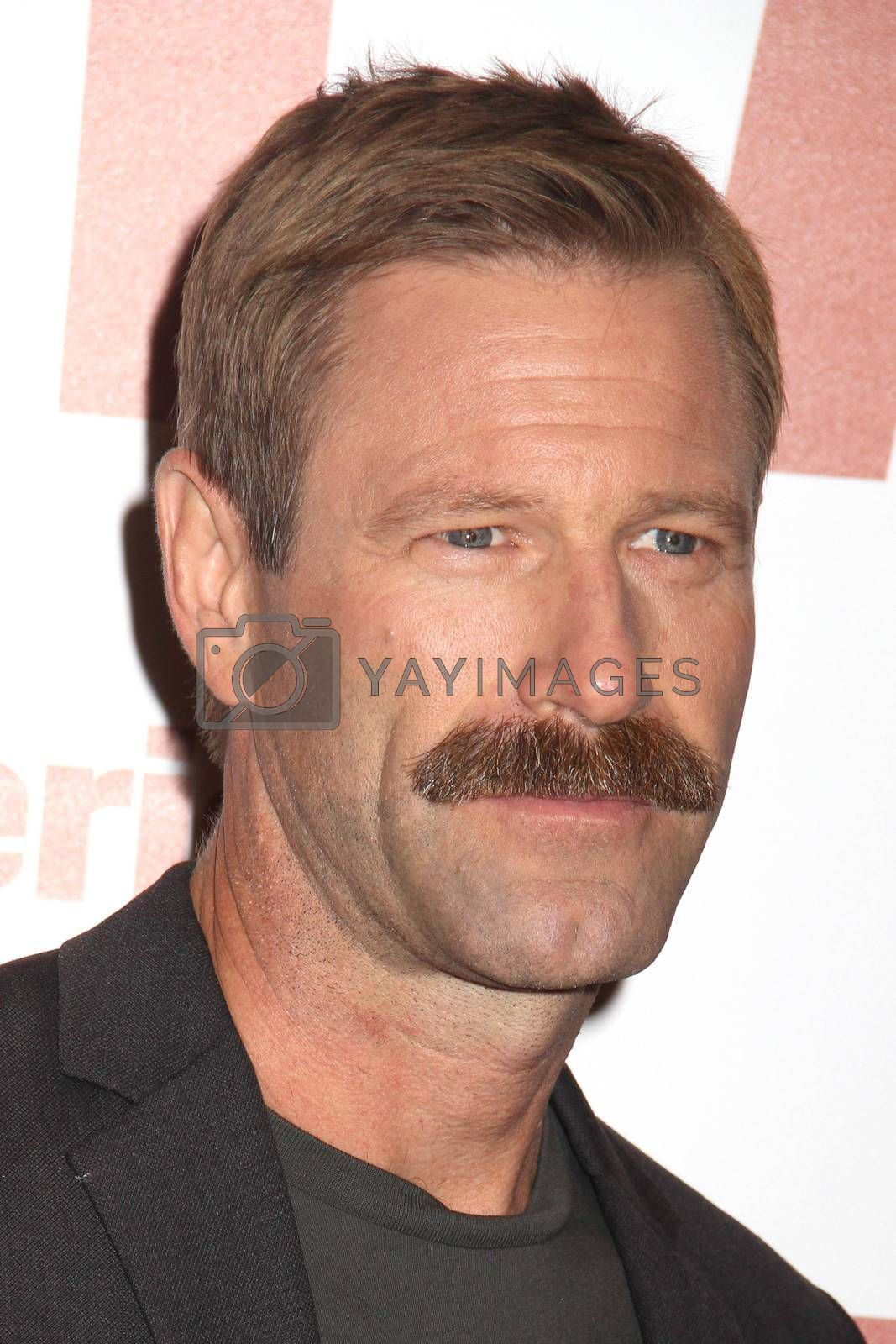 "Aaron Eckhart at the ""My All American"" L.A. Premiere, The Grove, Los Angeles, CA 11-09-15/ImageCollect by ImageCollect"