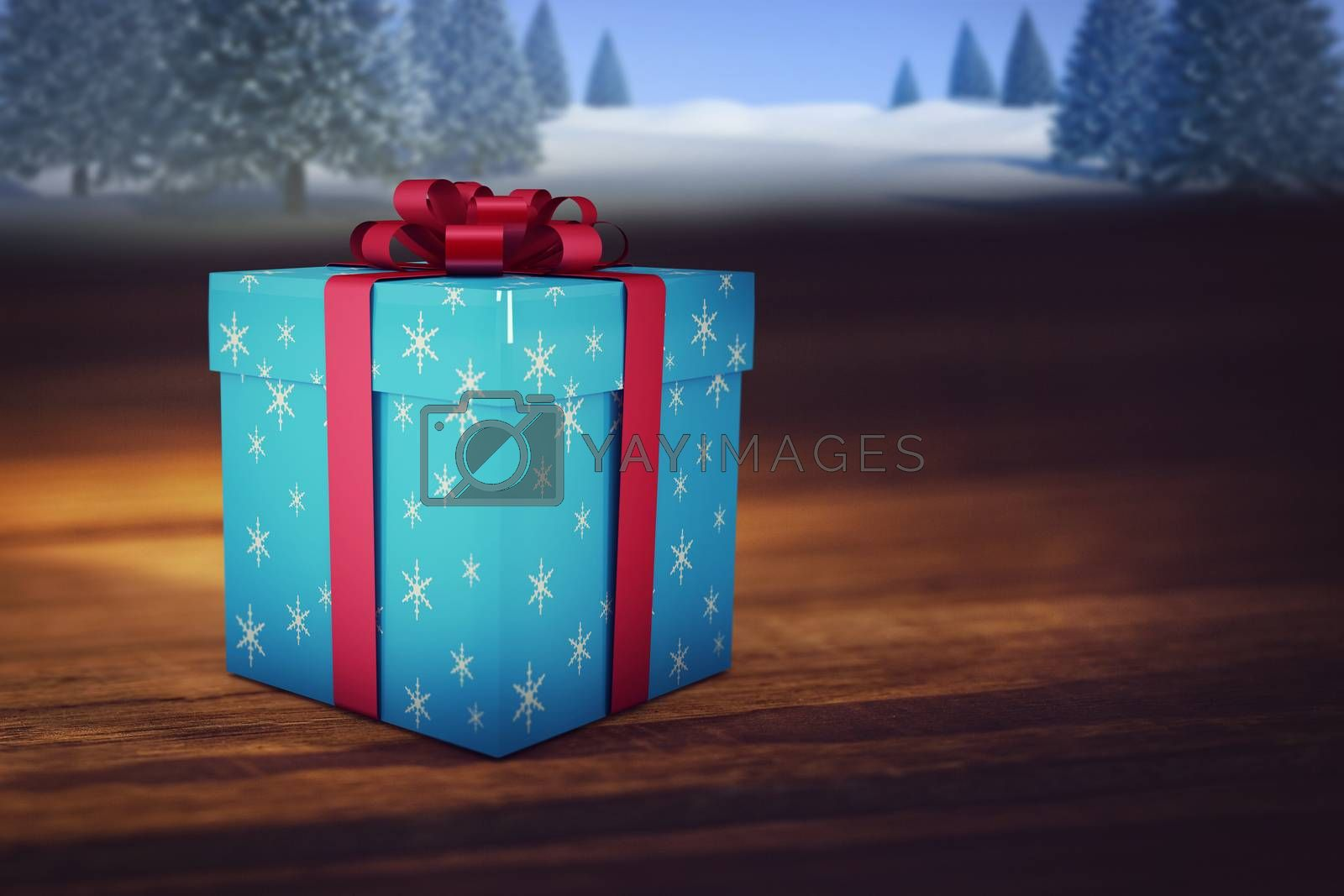 Composite image of christmas gifts by Wavebreakmedia