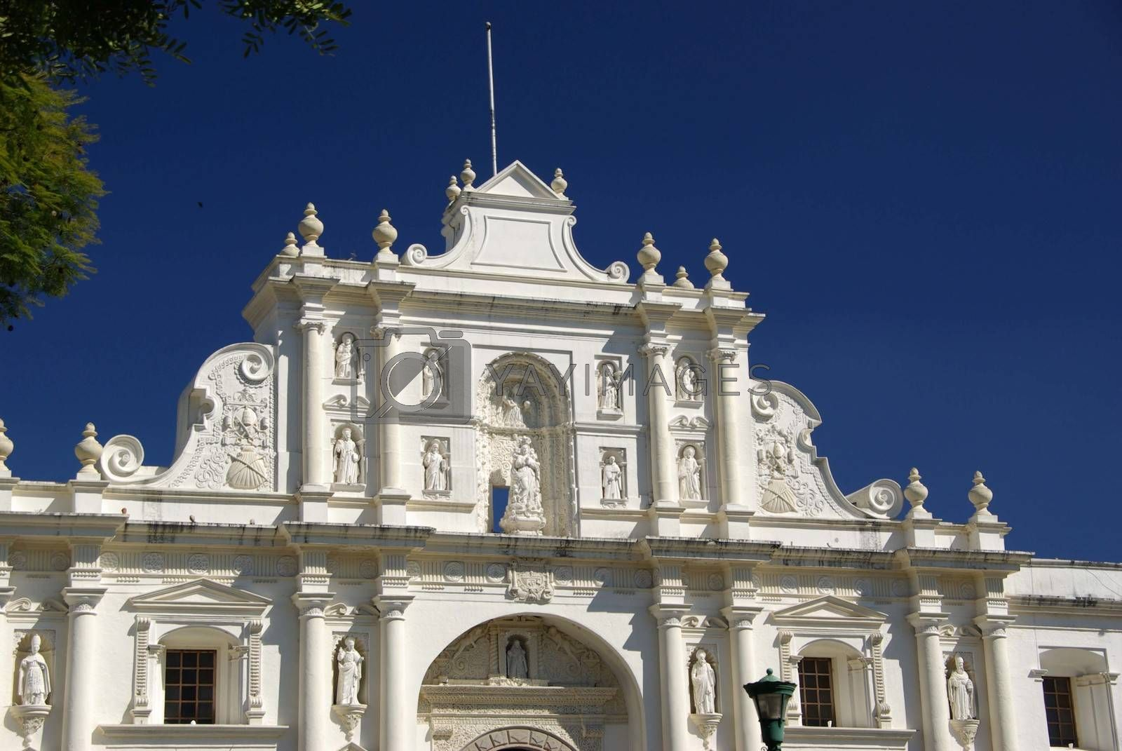 Royalty free image of Church in Antigua, Guatemala by pascalou95