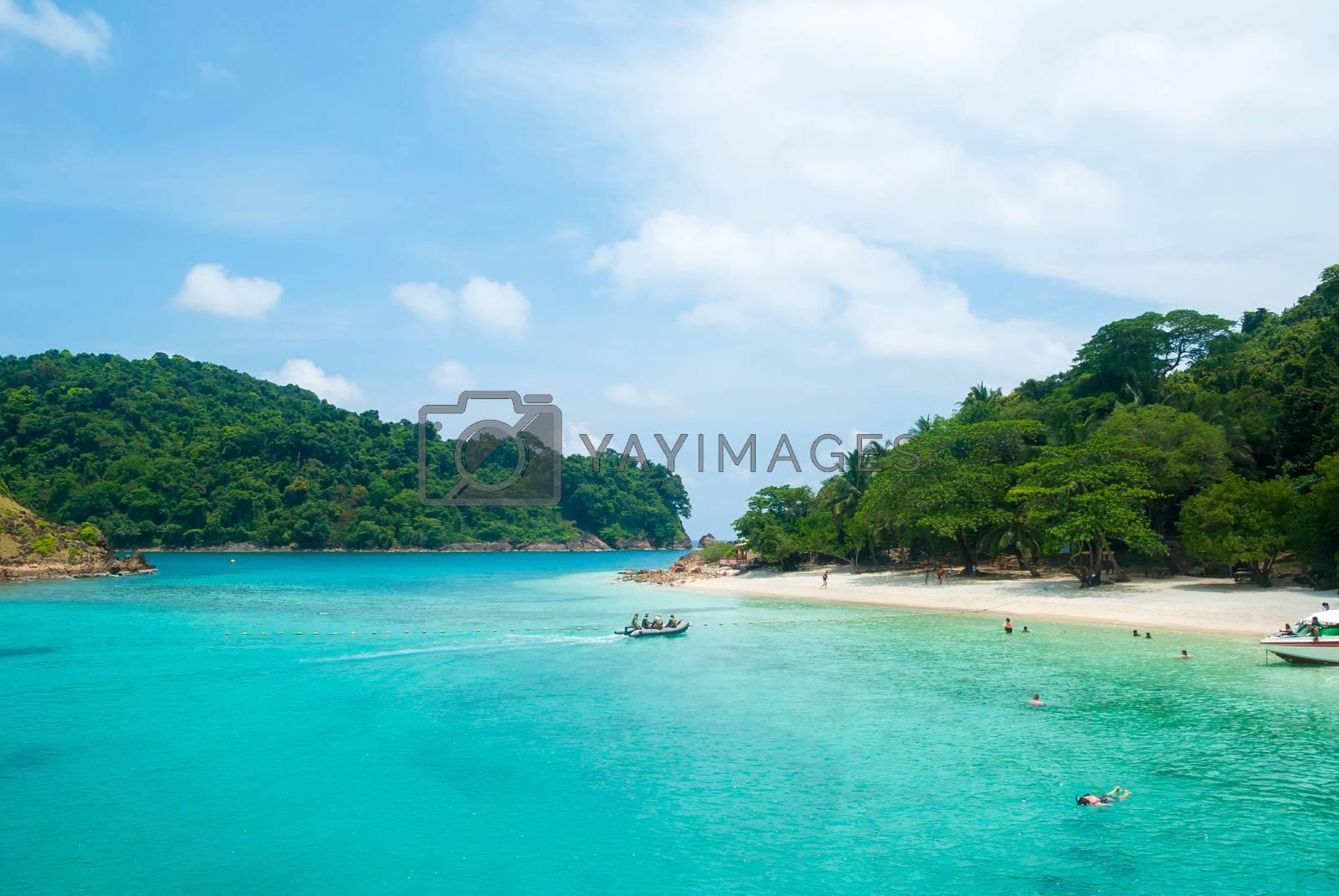 Tropical island at Thailand.
