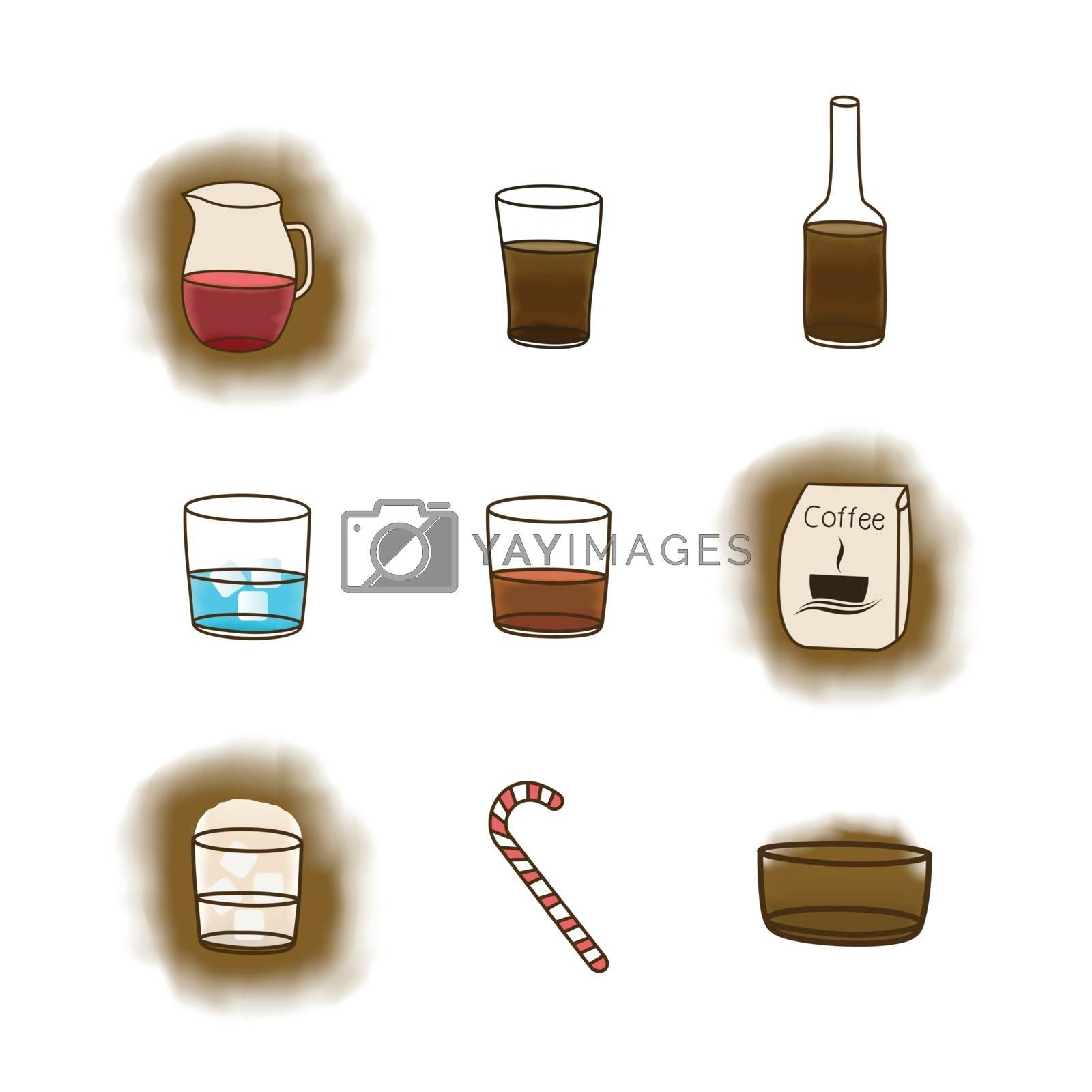 Coffee icon3 by aleksander1