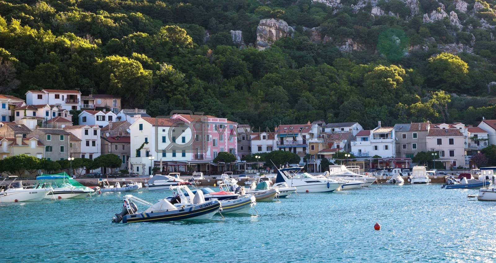 Mooring boats in the spa town by Sid10