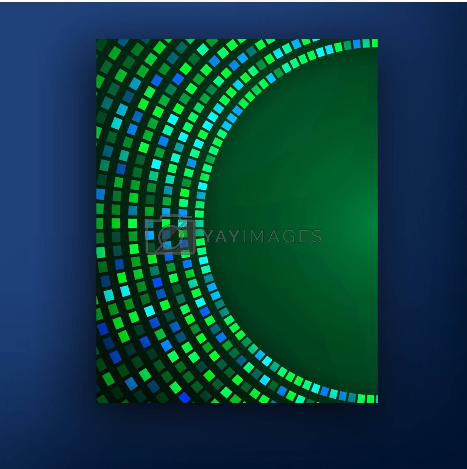 eps10, molecular structure  abstract background Vector eps10 illustration