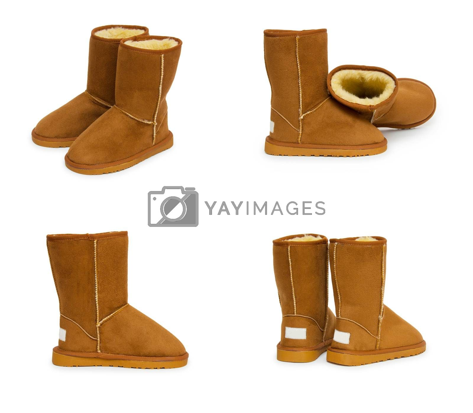 Royalty free image of Fashion winter boots by cocoo