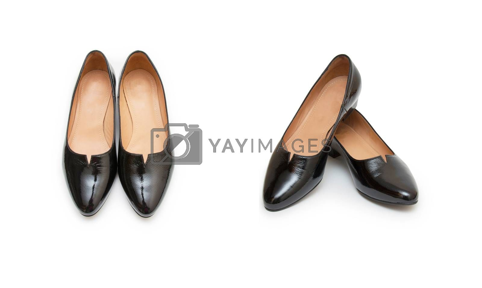 Royalty free image of Woman shoes isolated on the white background by cocoo