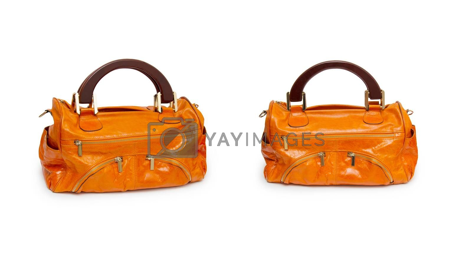 Royalty free image of Woman bag isolated on the white background by cocoo