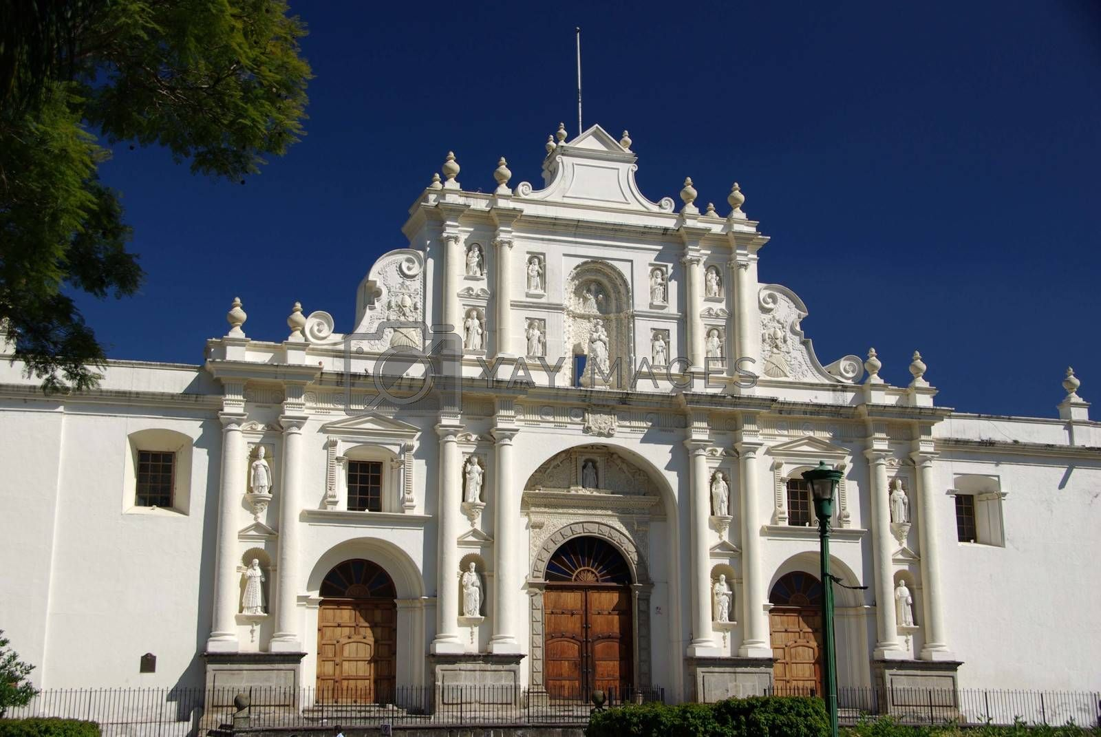 Royalty free image of Cathedral in Antigua, Guatemala by pascalou95