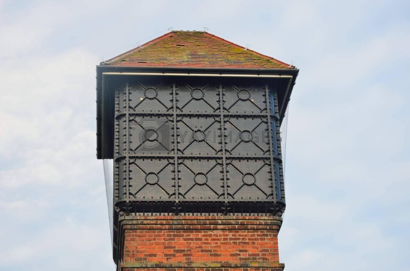 Top of Brick Water Tower