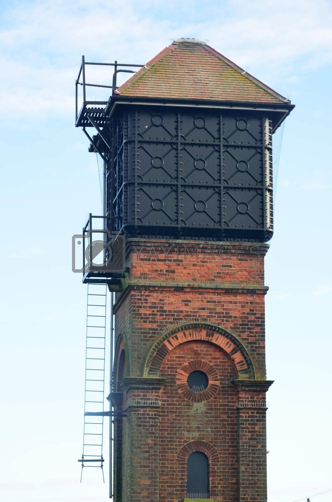 Small Victorian Brick Water Tower