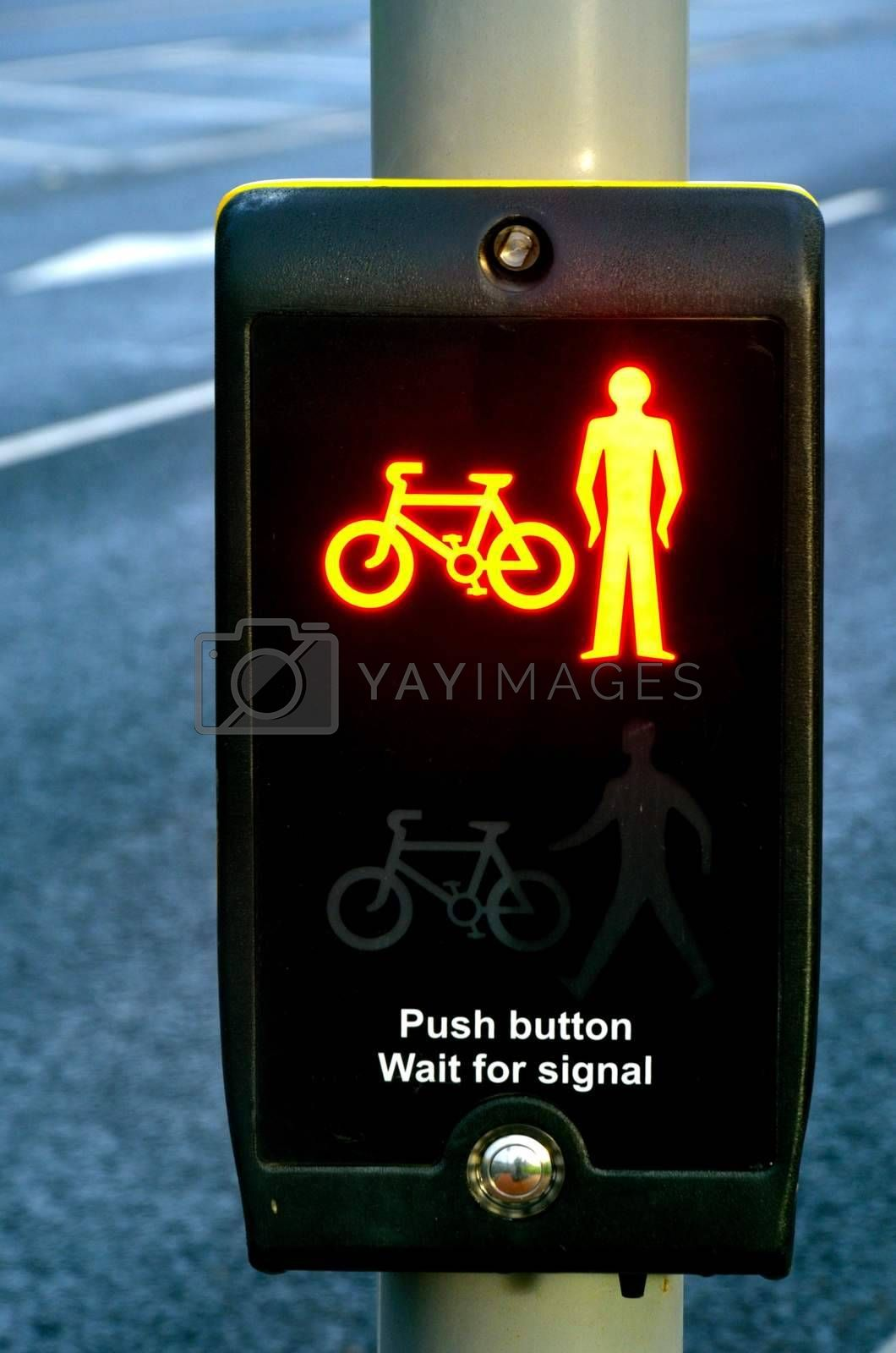 Pedestrian and Cycle Control at Red