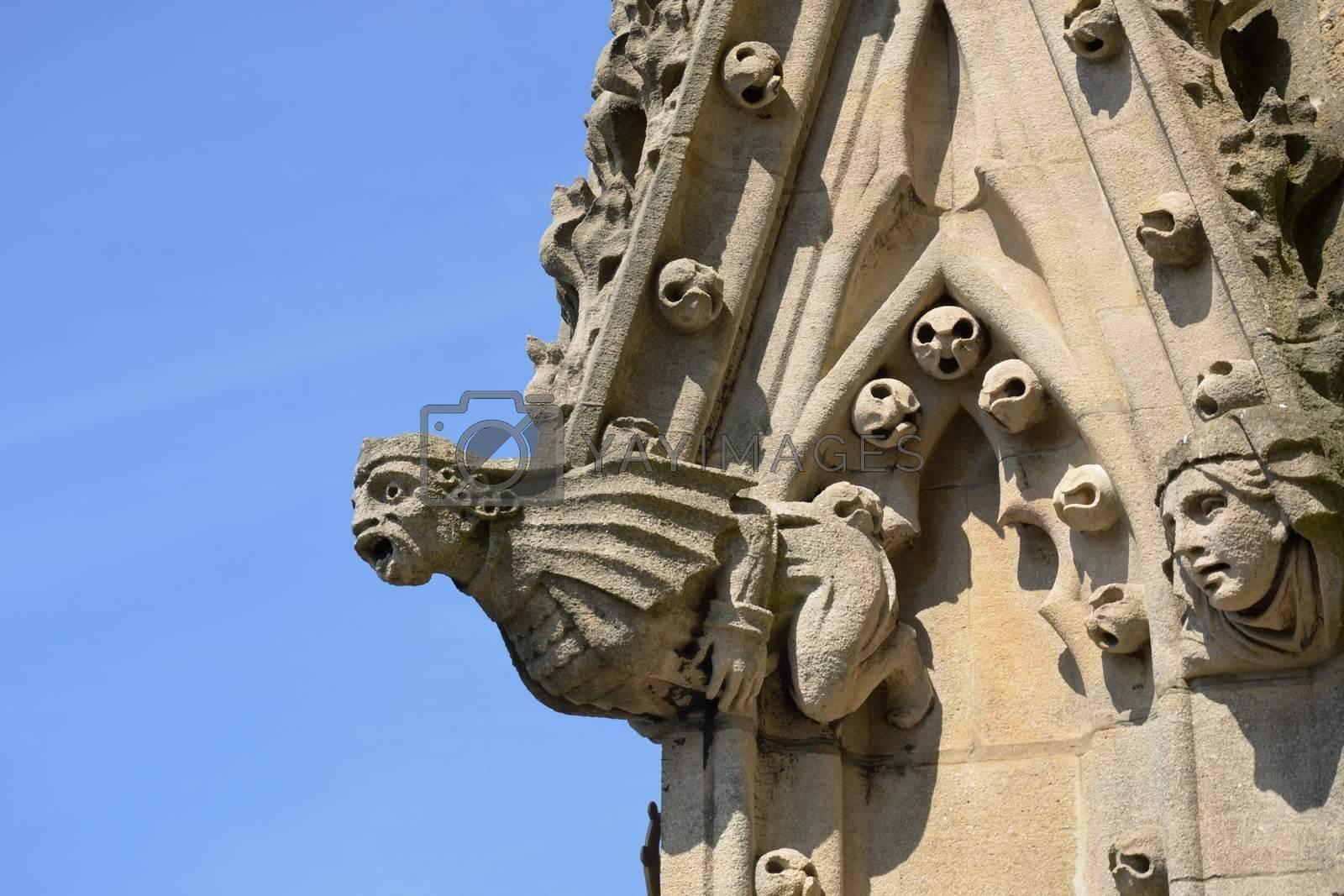 Gargoyle on side of Church