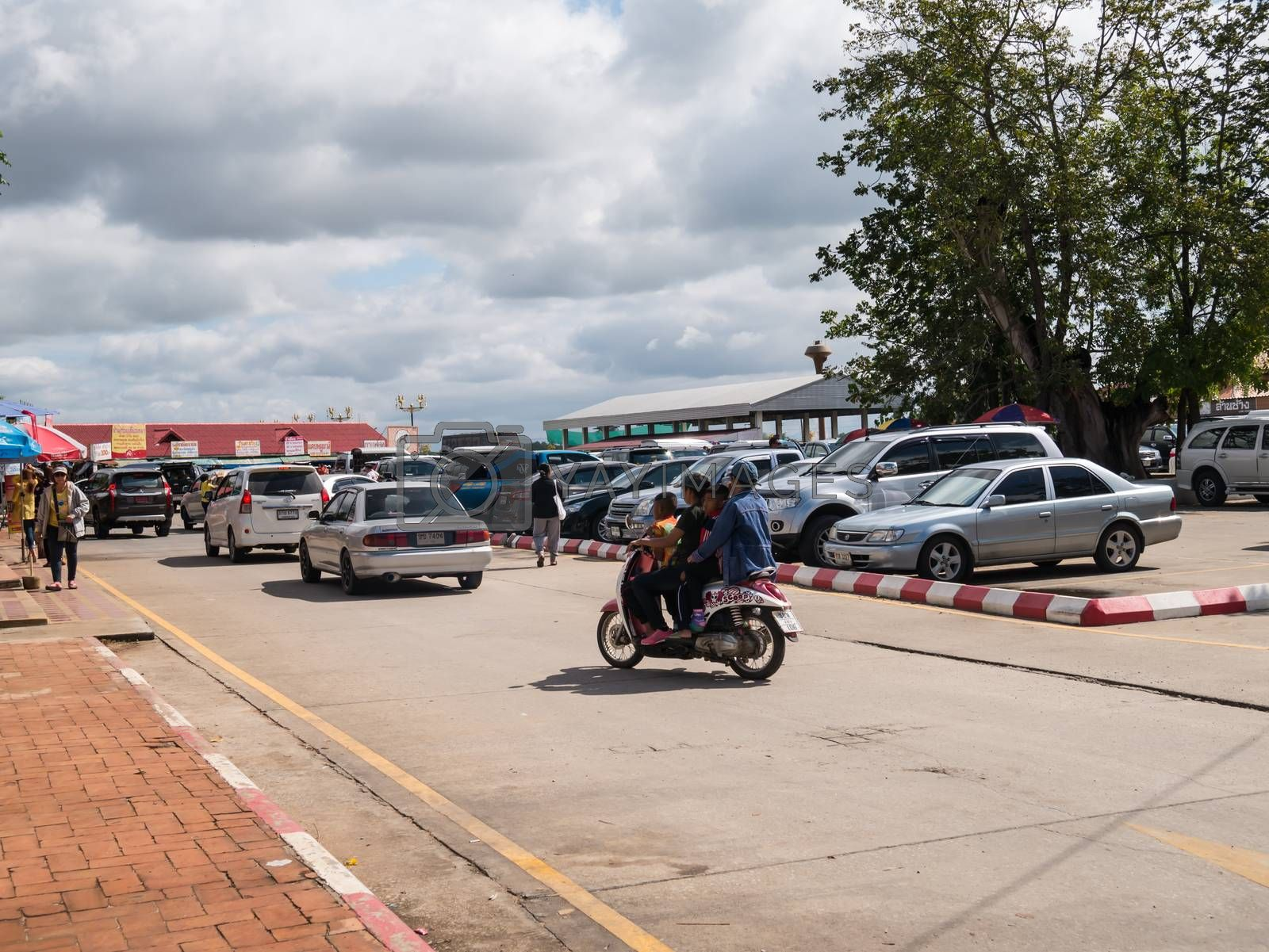 Royalty free image of Lampang - December 5 : Don Muang Airport on December 5 , 2015 Pe by nikky1972