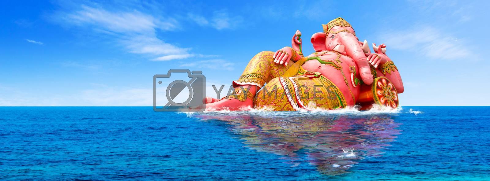 Ganesha's panorama, Hindu God and the god of success