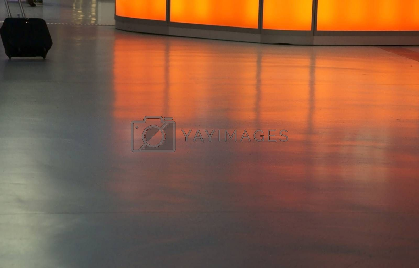 Royalty free image of Foyer airport by ginton