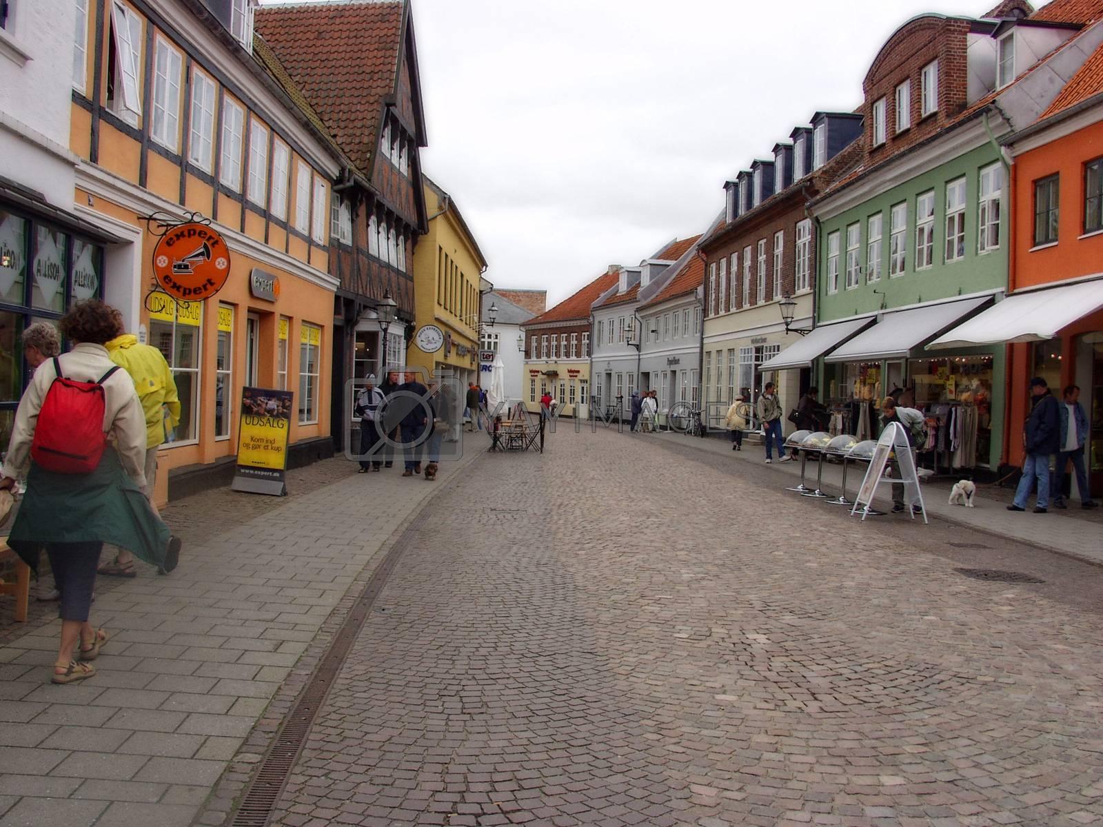 Gate i Århus - Danmark