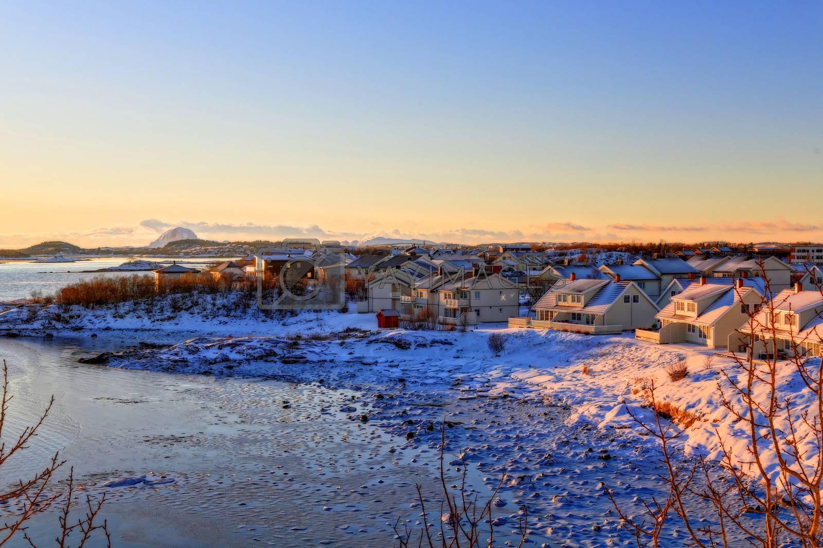 Vintersol i Skarsåsen