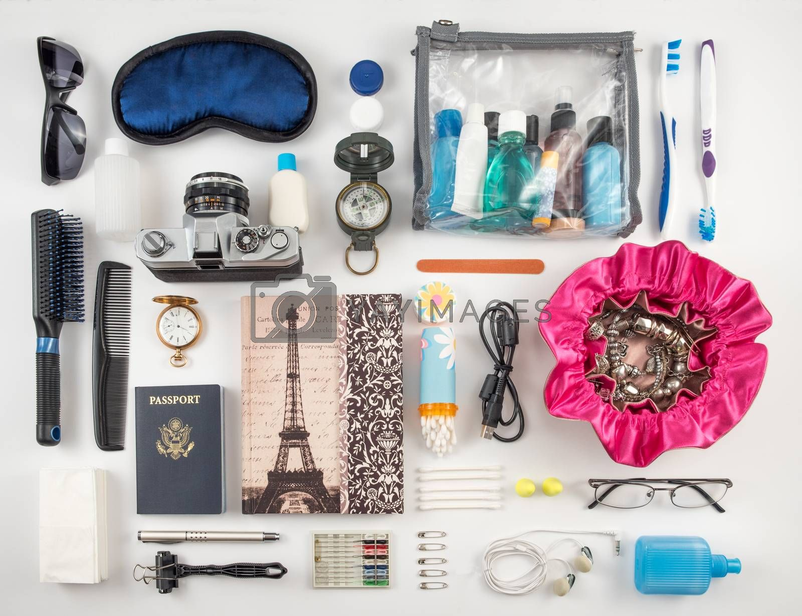 Royalty free image of Travel Essentials by krisblackphotography