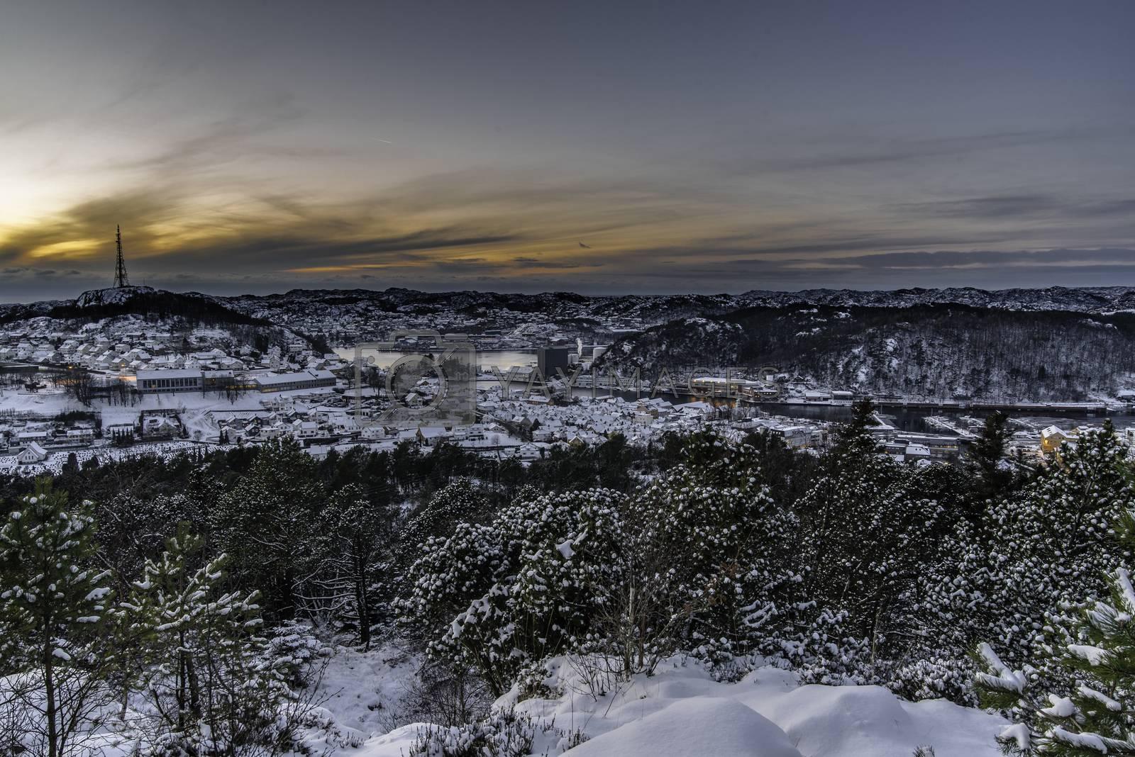 Utsikt mot Egersund by vidar.fredheim@dabb.no